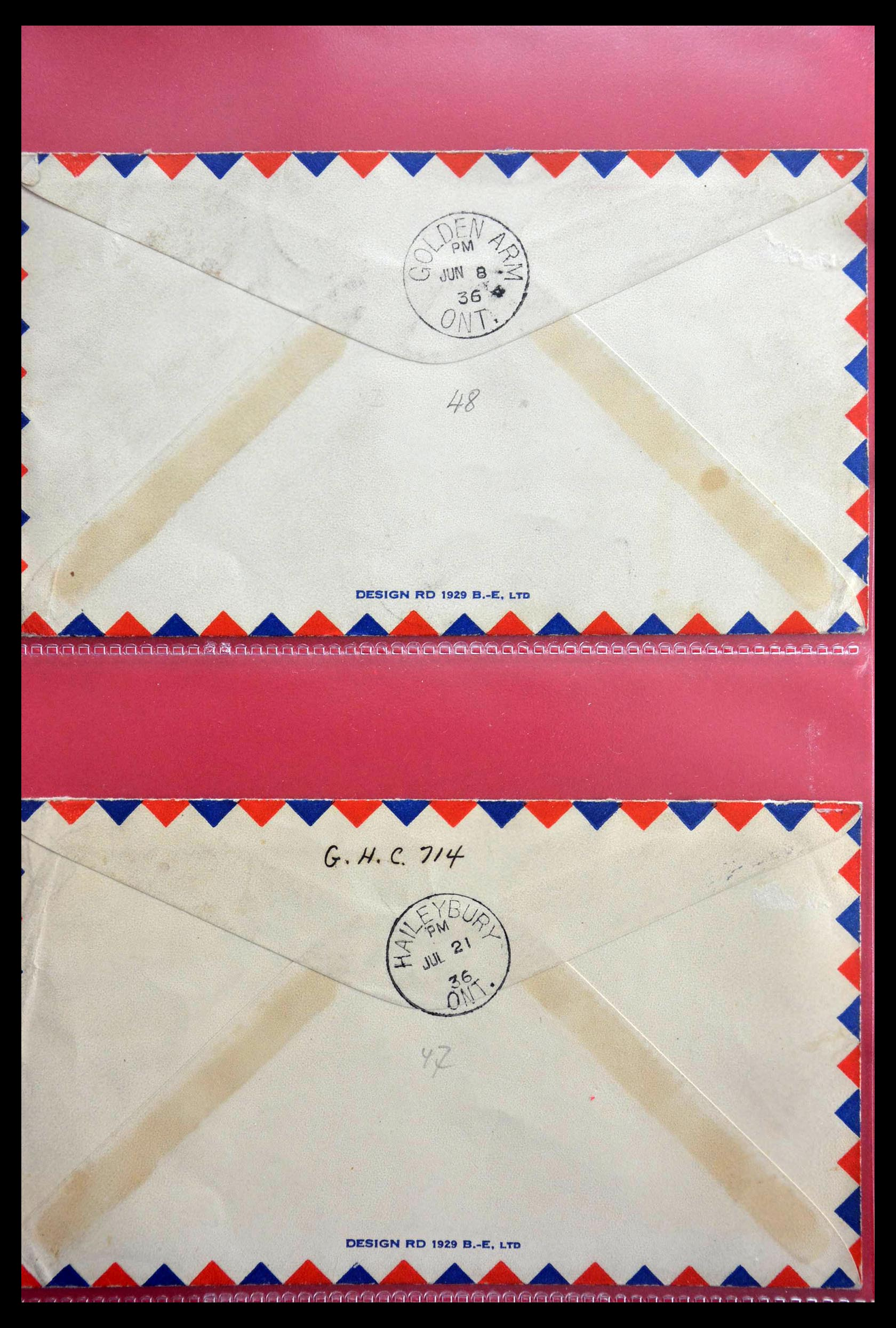 28696 012 - 28696 Canada covers 1872-1939.