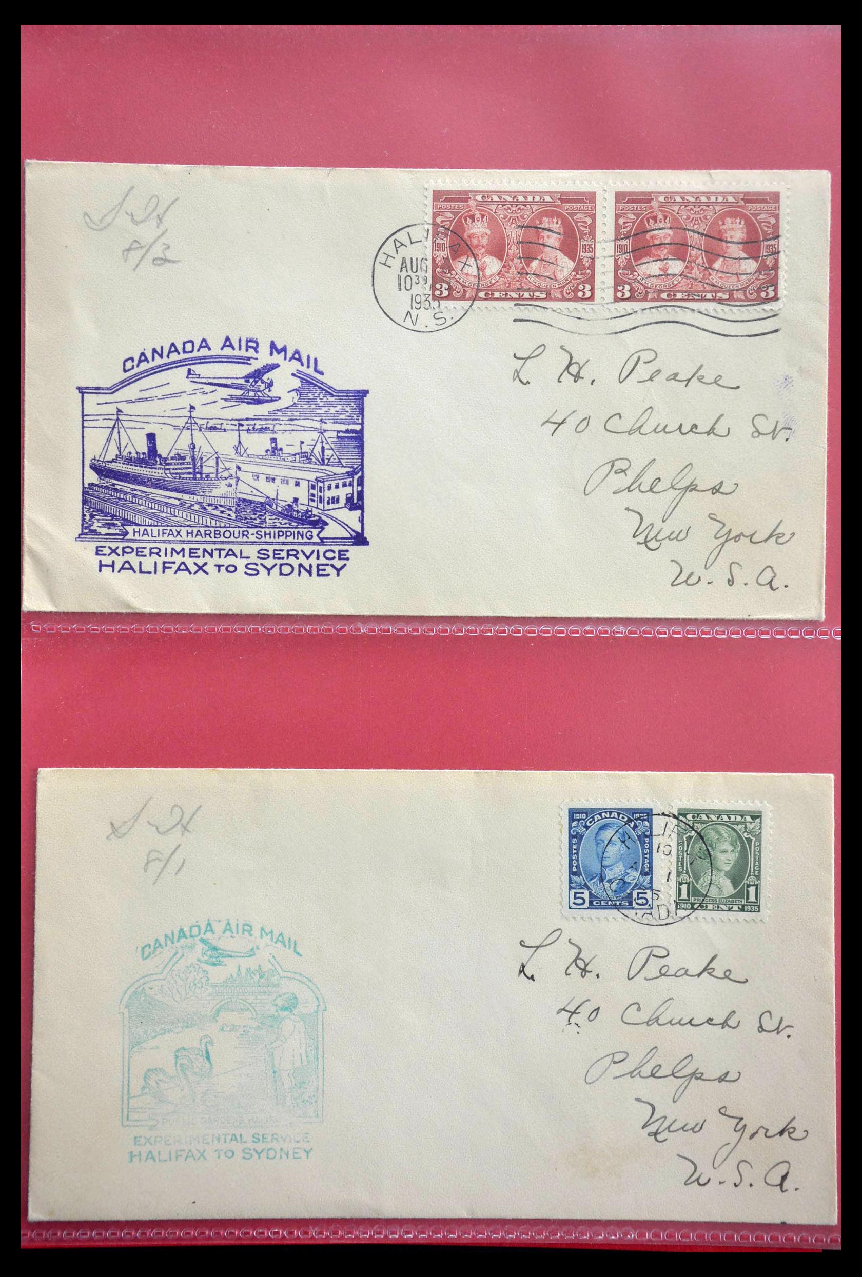 28696 013 - 28696 Canada covers 1872-1939.