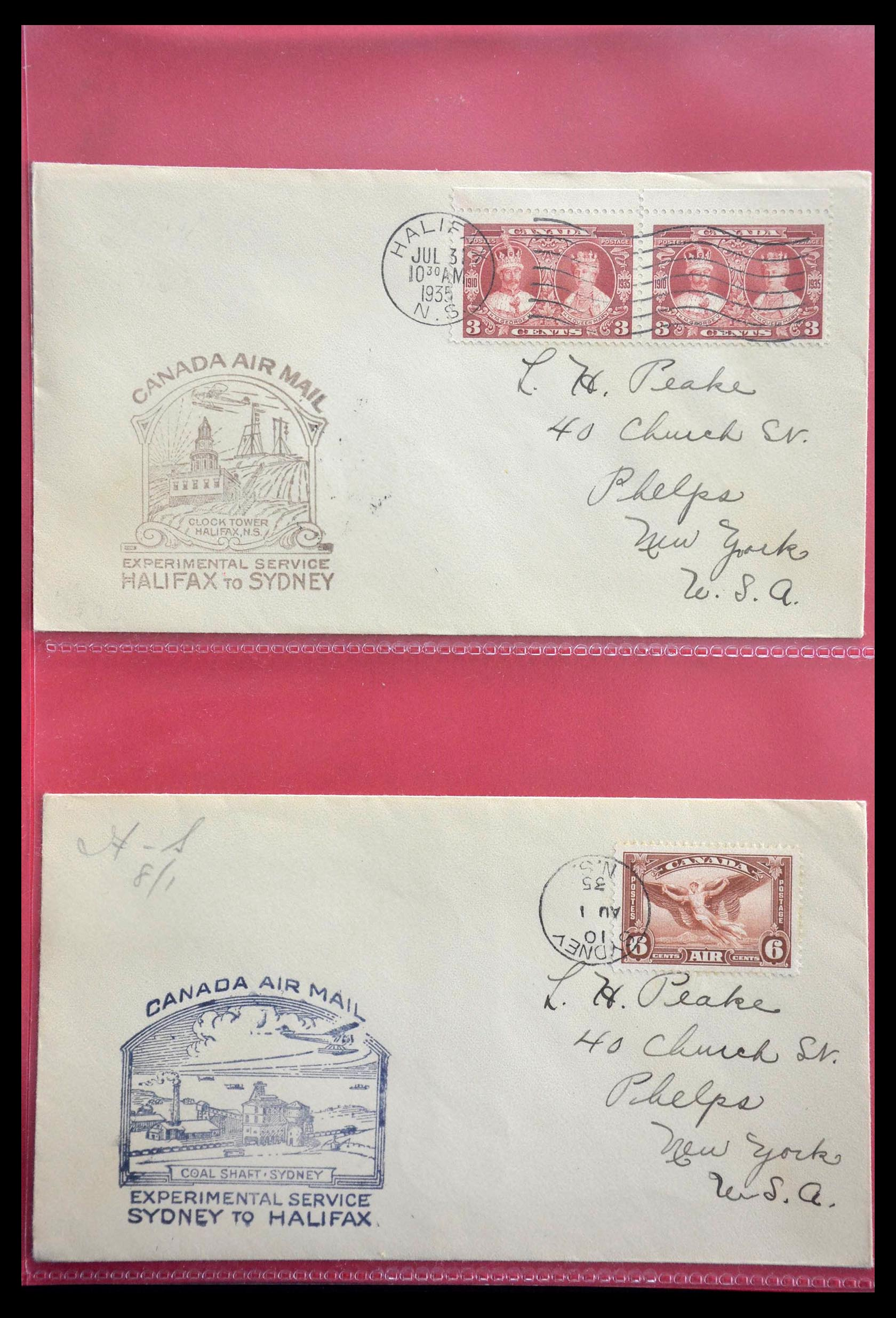 28696 015 - 28696 Canada covers 1872-1939.