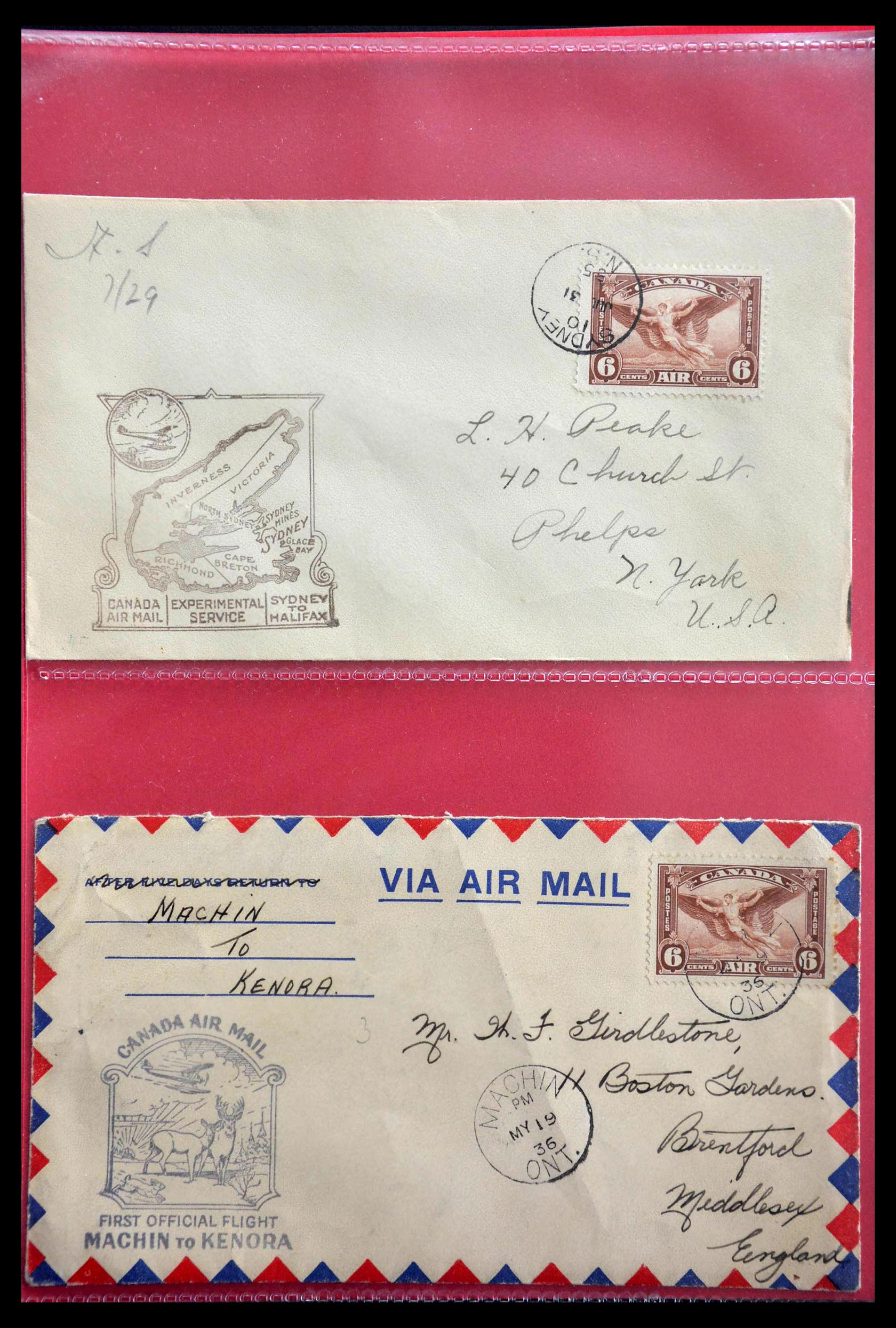 28696 017 - 28696 Canada covers 1872-1939.