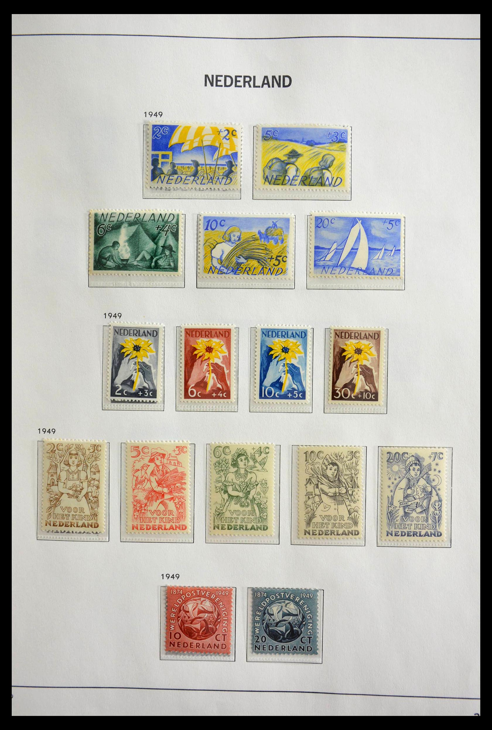 28751 007 - 28751 Netherlands 1945-1989.