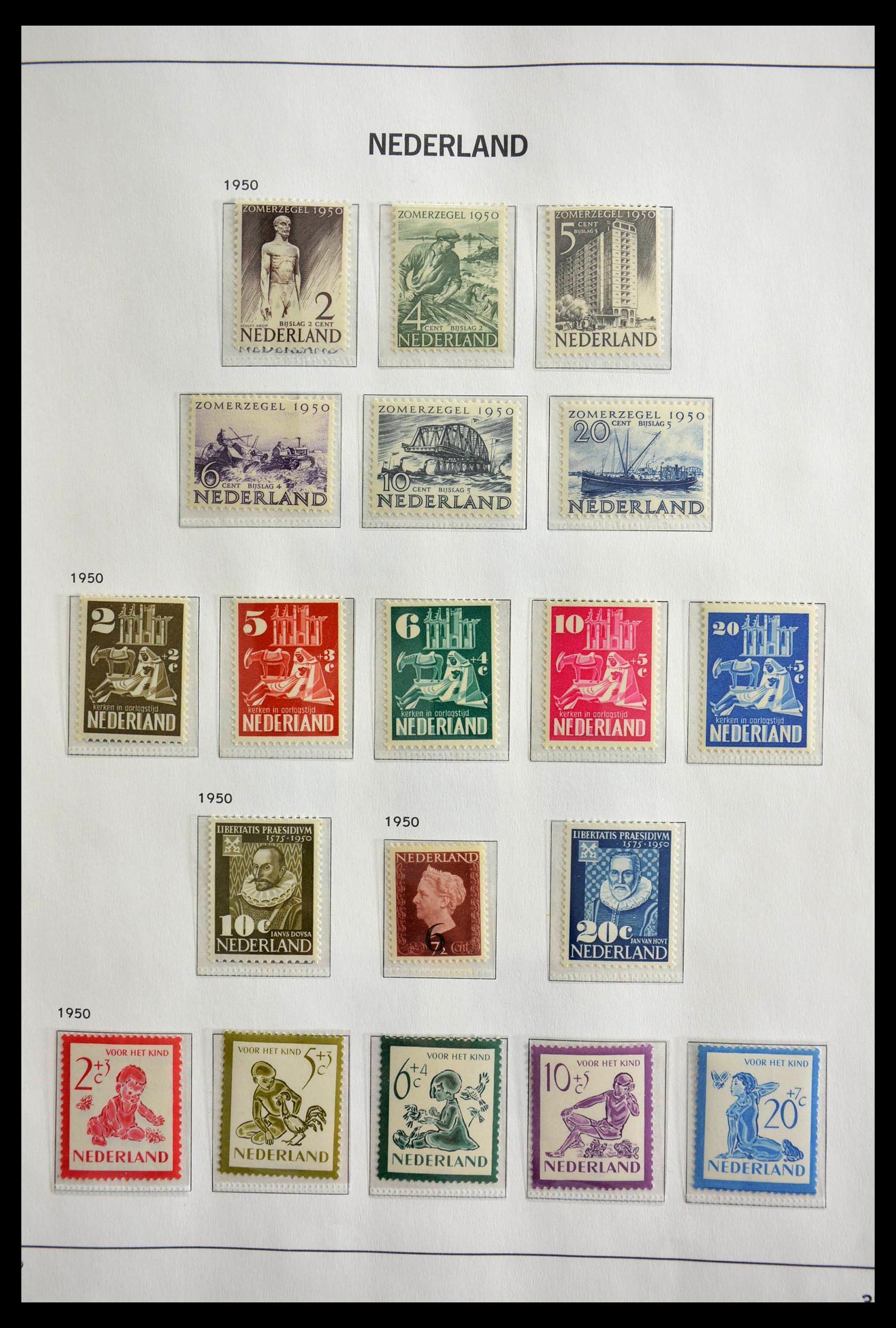 28751 009 - 28751 Netherlands 1945-1989.