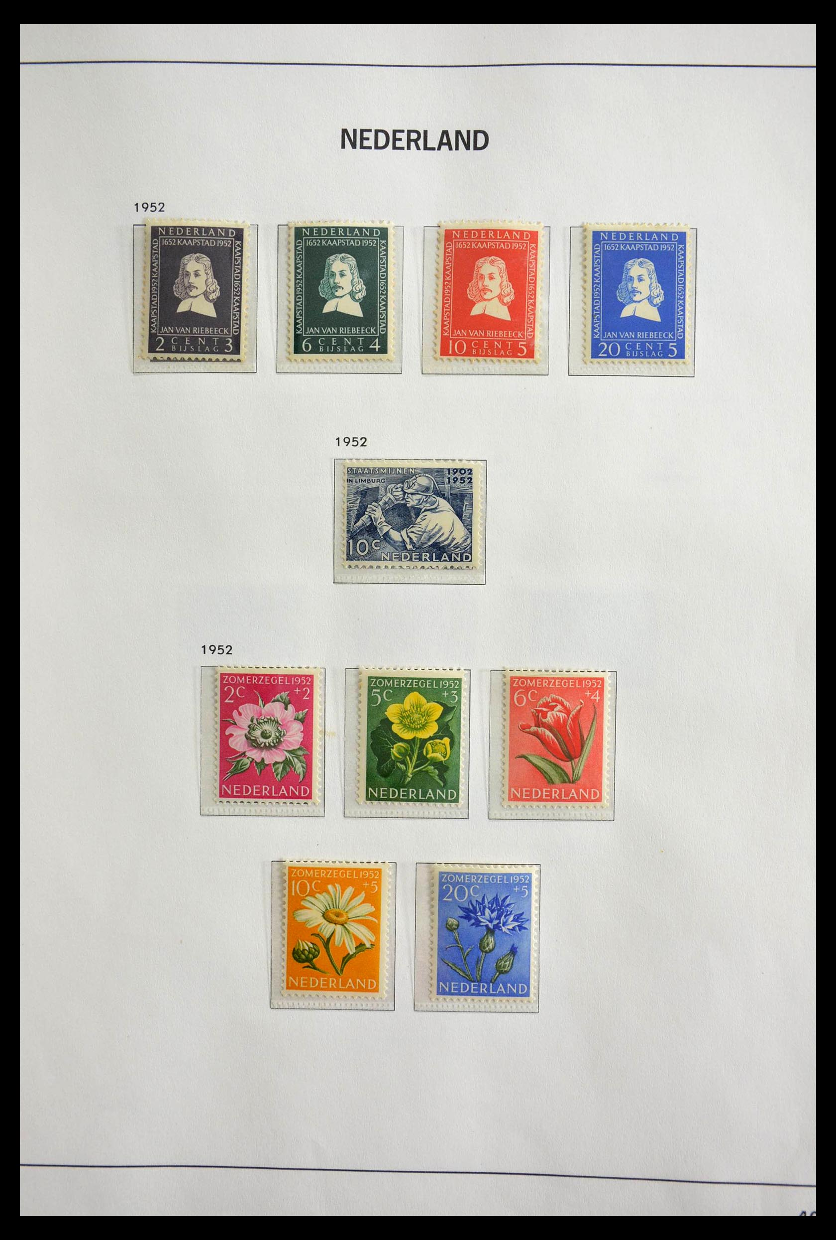 28751 011 - 28751 Netherlands 1945-1989.