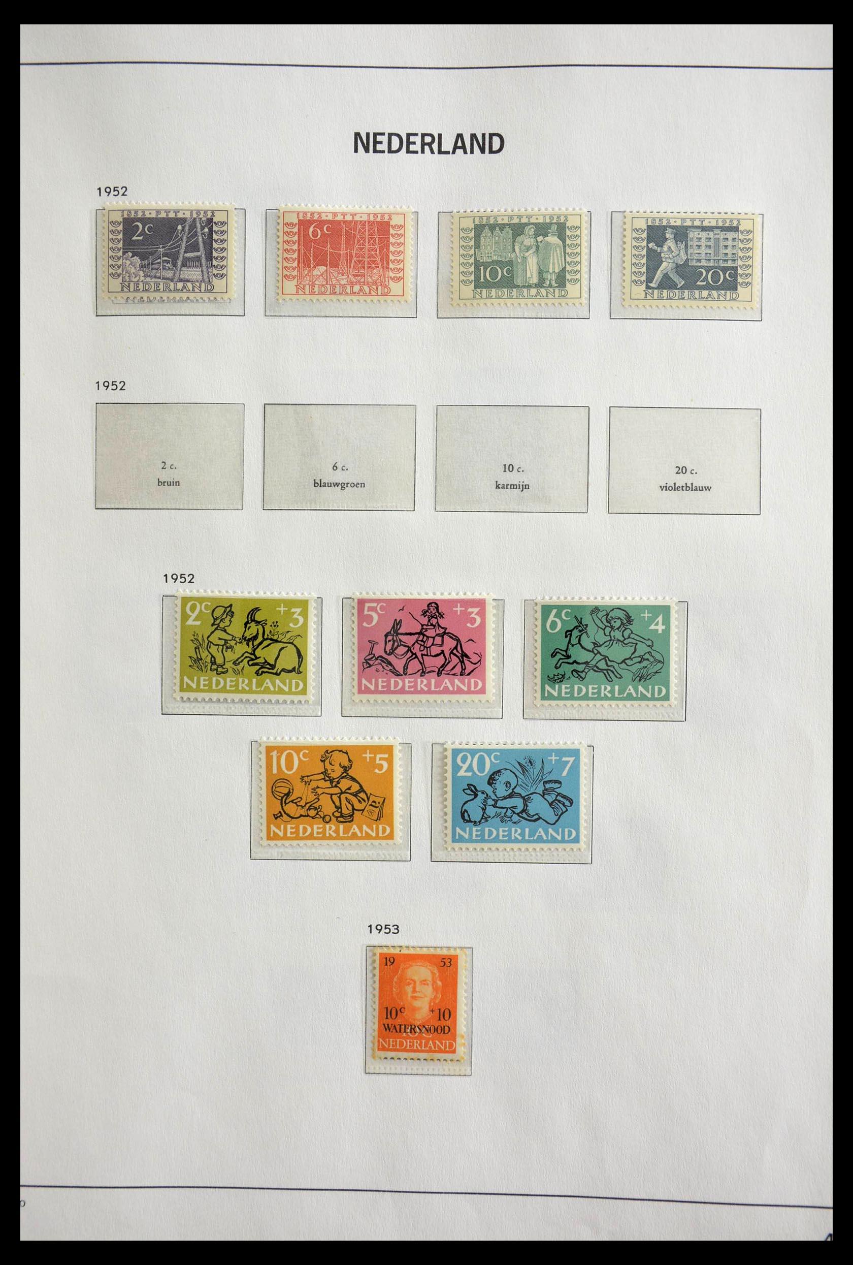 28751 012 - 28751 Netherlands 1945-1989.