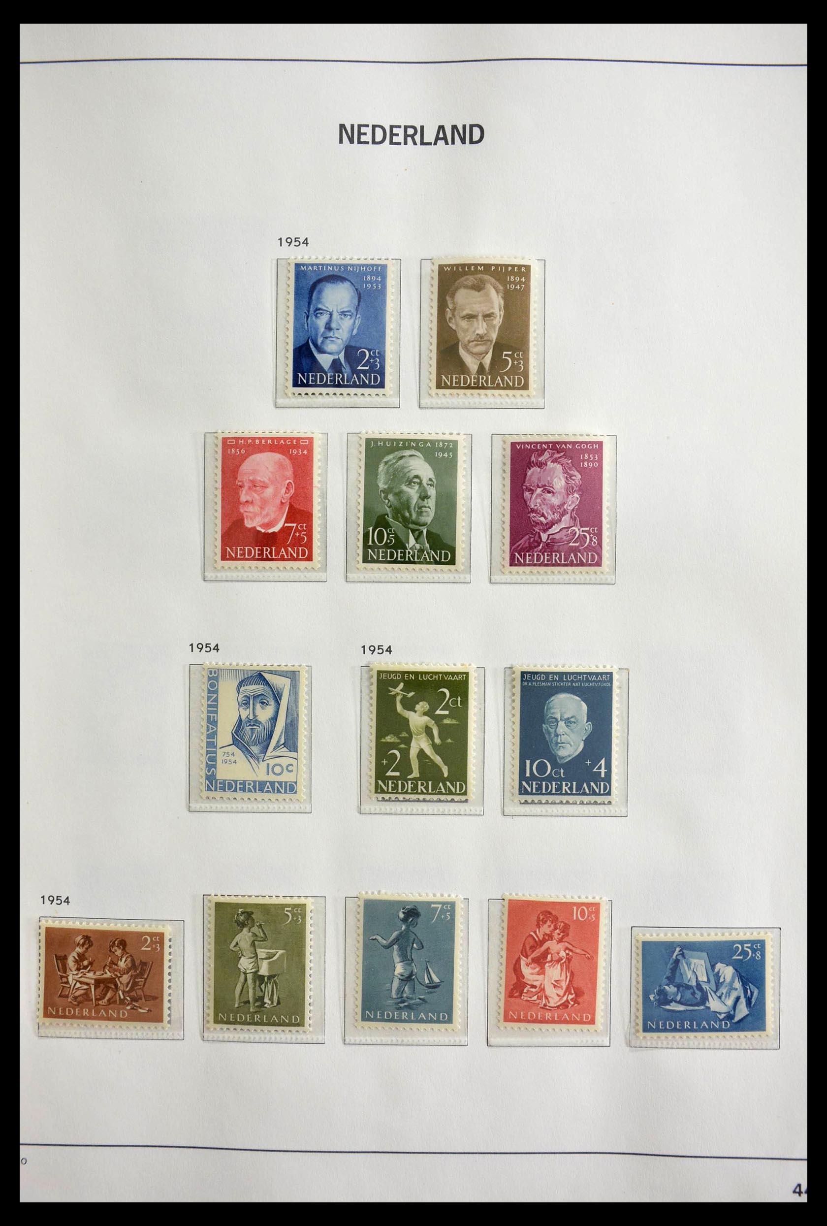 28751 015 - 28751 Netherlands 1945-1989.