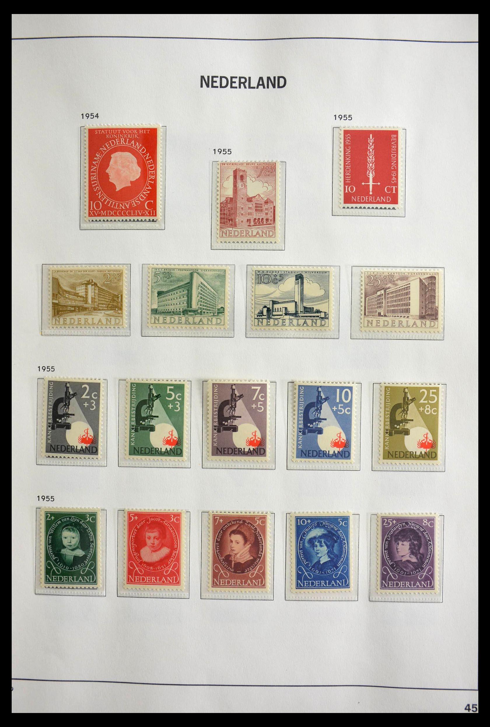 28751 016 - 28751 Netherlands 1945-1989.
