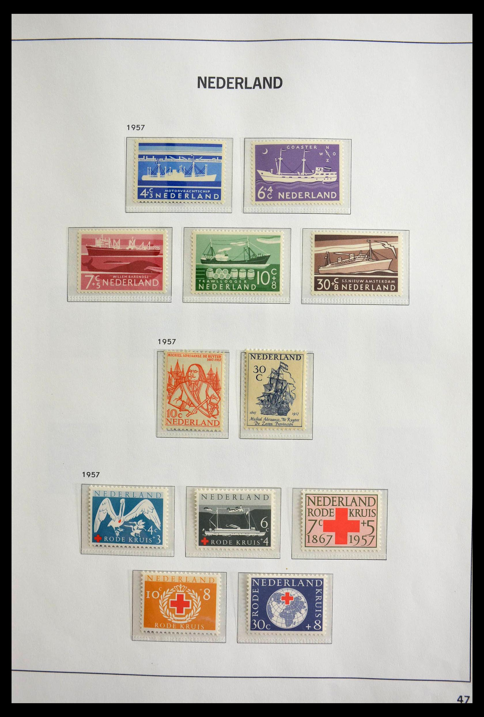 28751 018 - 28751 Netherlands 1945-1989.