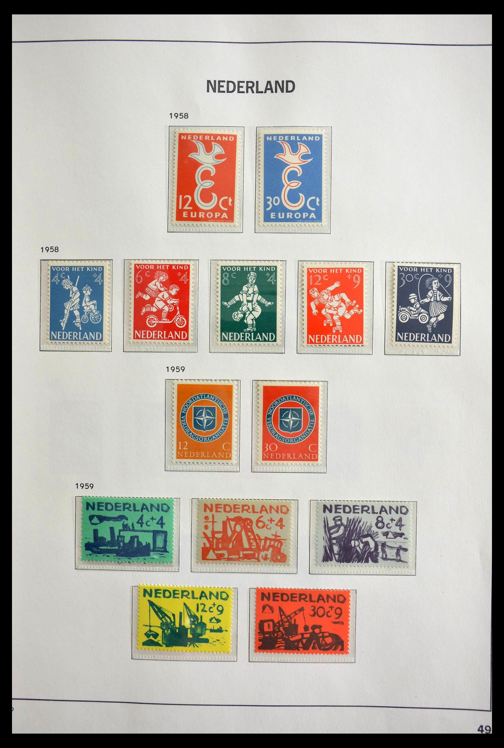 28751 020 - 28751 Netherlands 1945-1989.