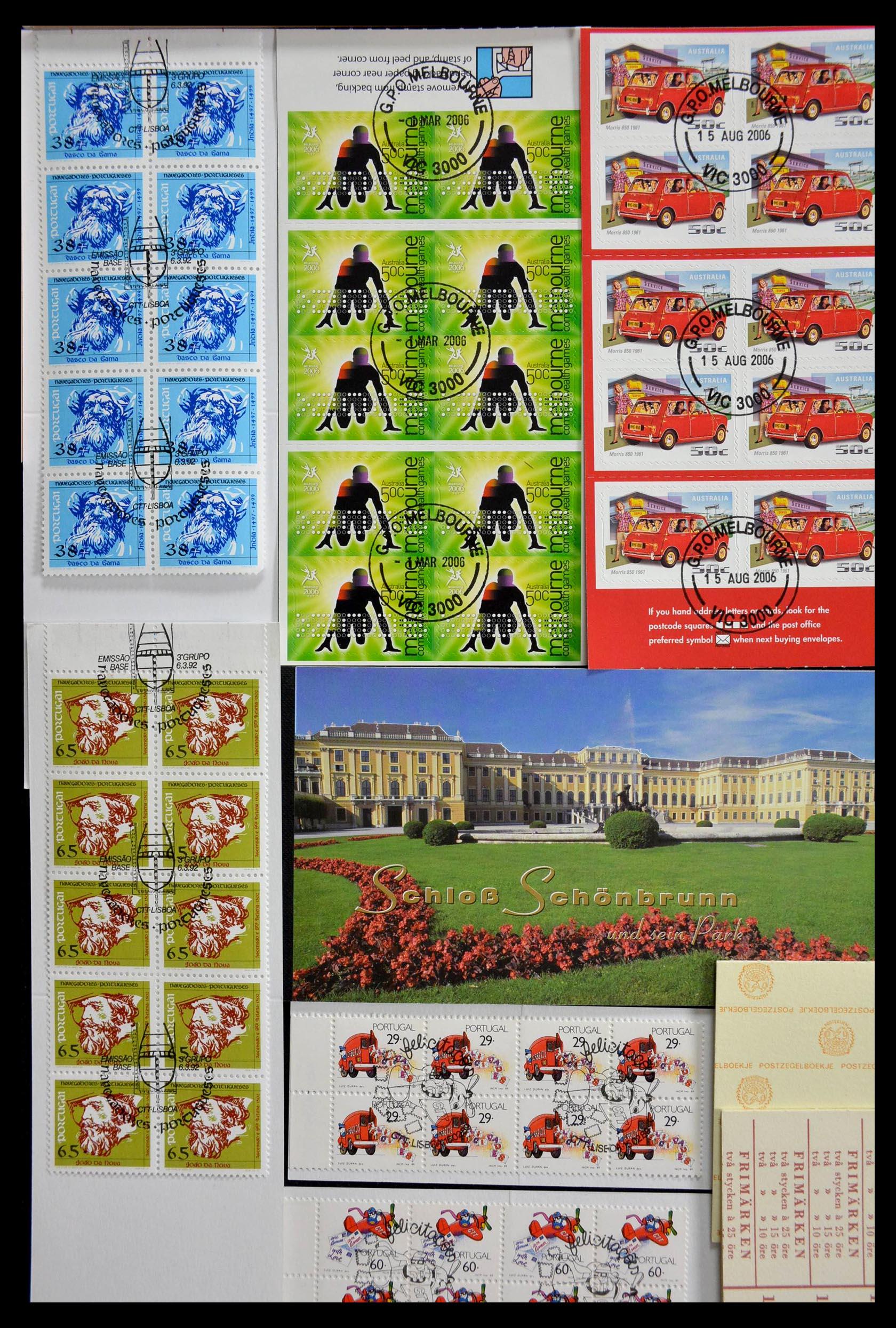 28824 001 - 28824 West Europa postzegelboekjes t/m modern.