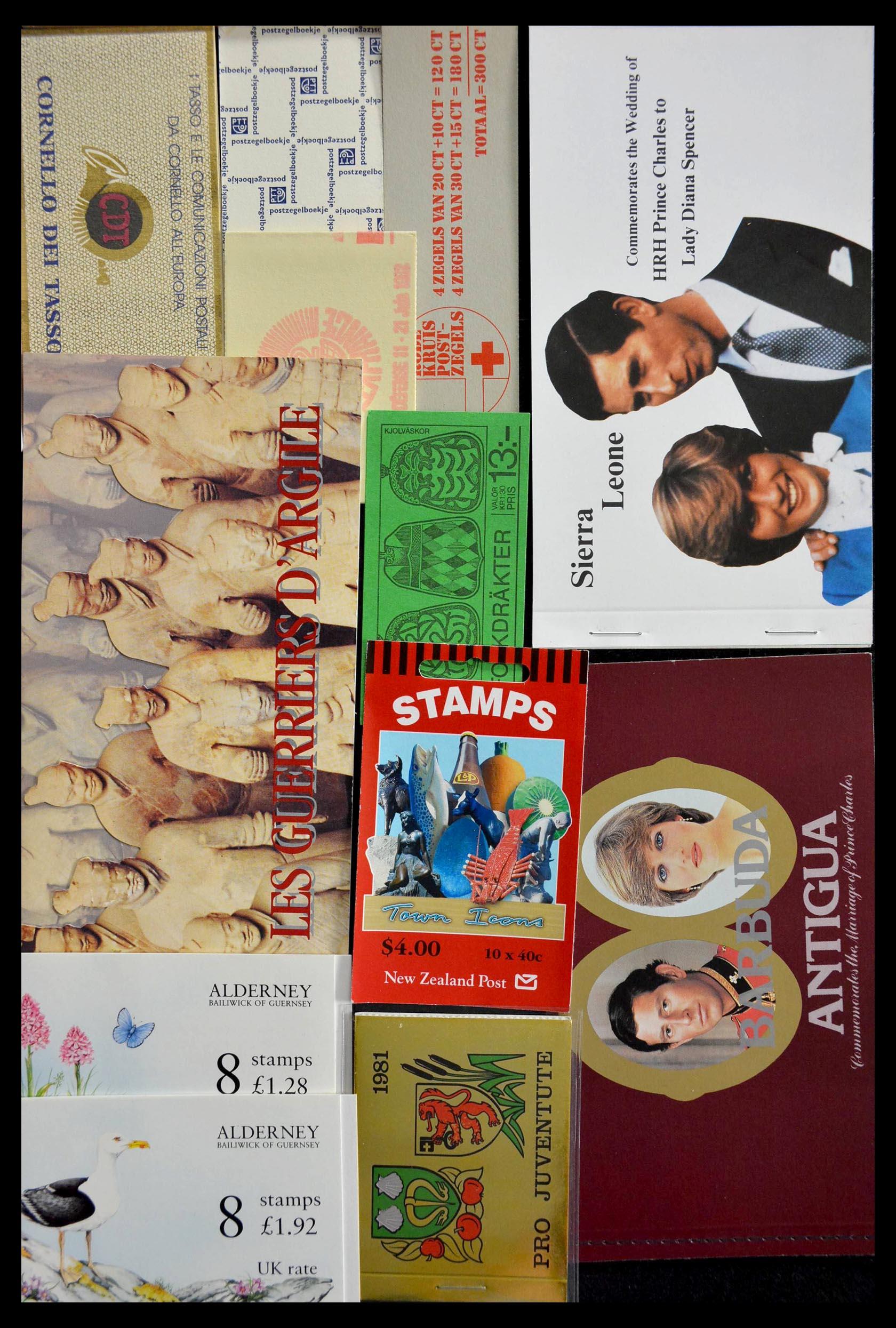 28824 002 - 28824 West Europa postzegelboekjes t/m modern.