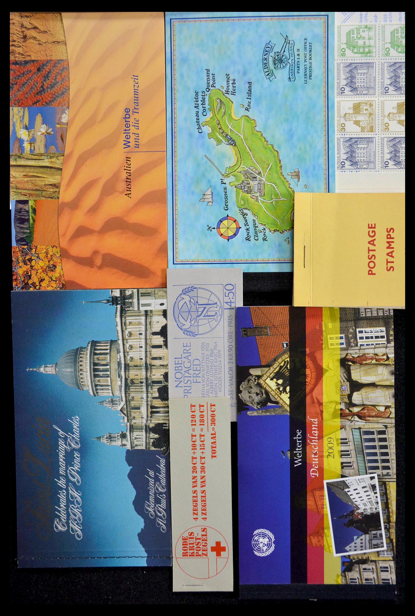 28824 003 - 28824 West Europa postzegelboekjes t/m modern.