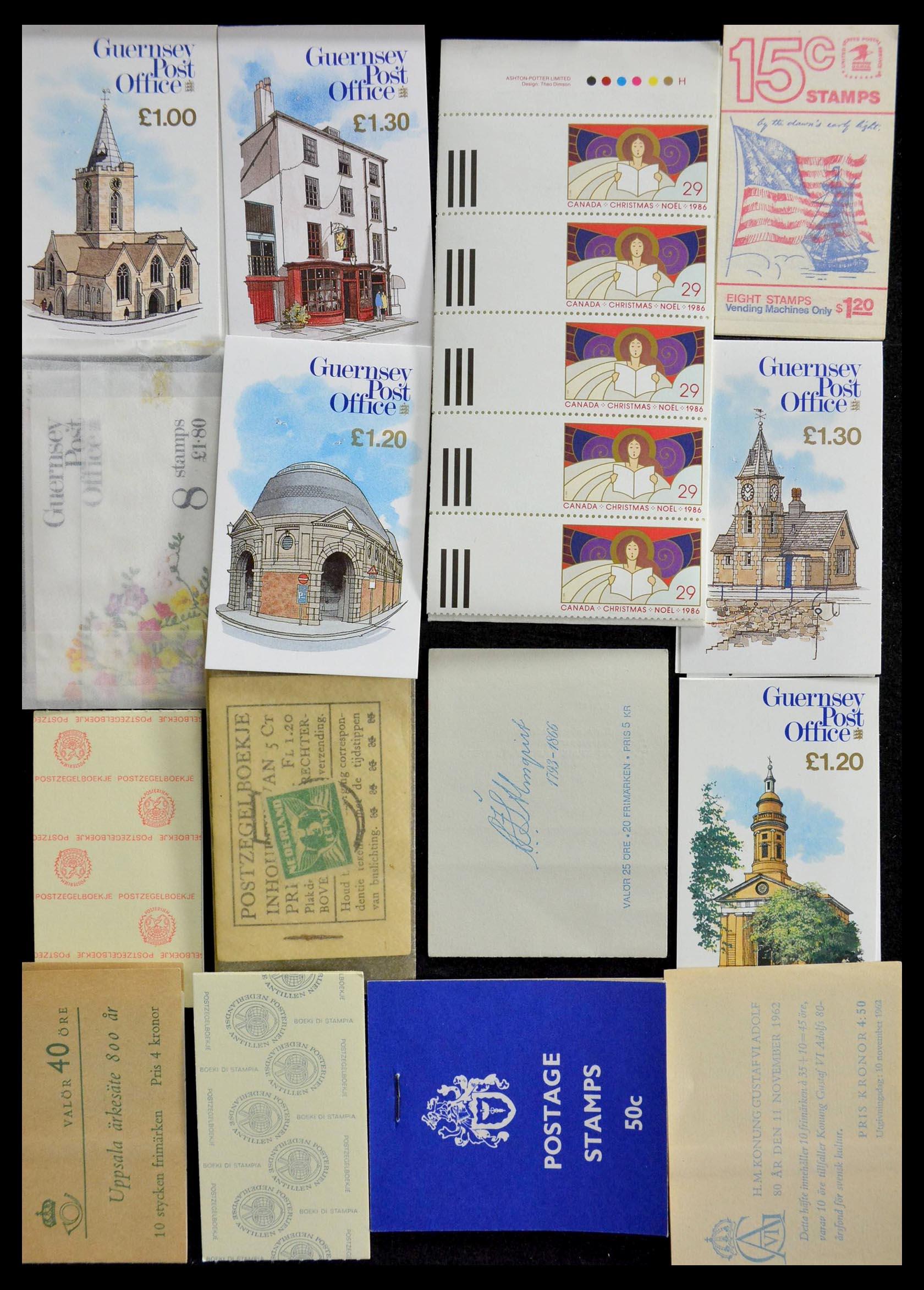 28824 005 - 28824 West Europa postzegelboekjes t/m modern.