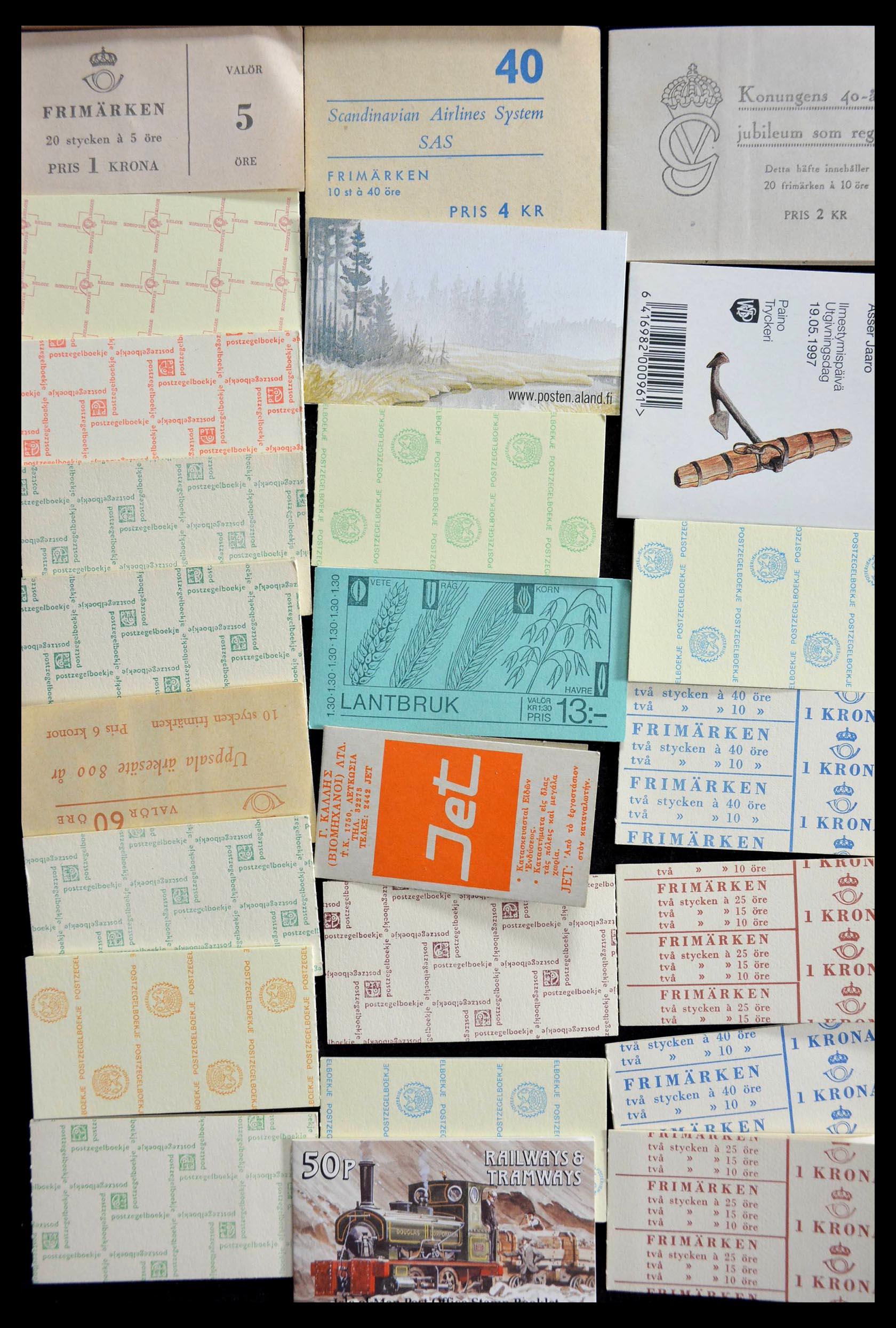 28824 006 - 28824 West Europa postzegelboekjes t/m modern.