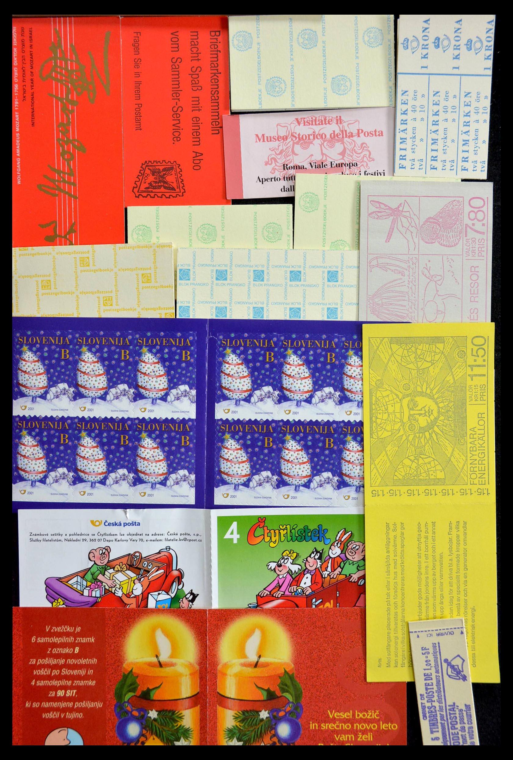 28824 007 - 28824 West Europa postzegelboekjes t/m modern.