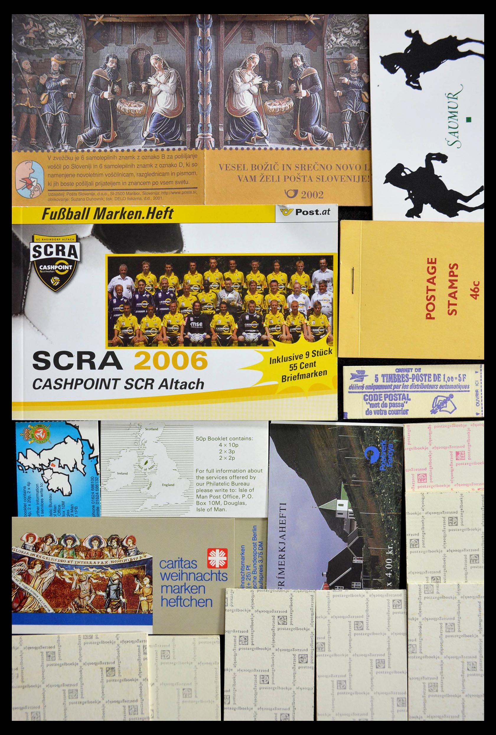 28824 008 - 28824 West Europa postzegelboekjes t/m modern.