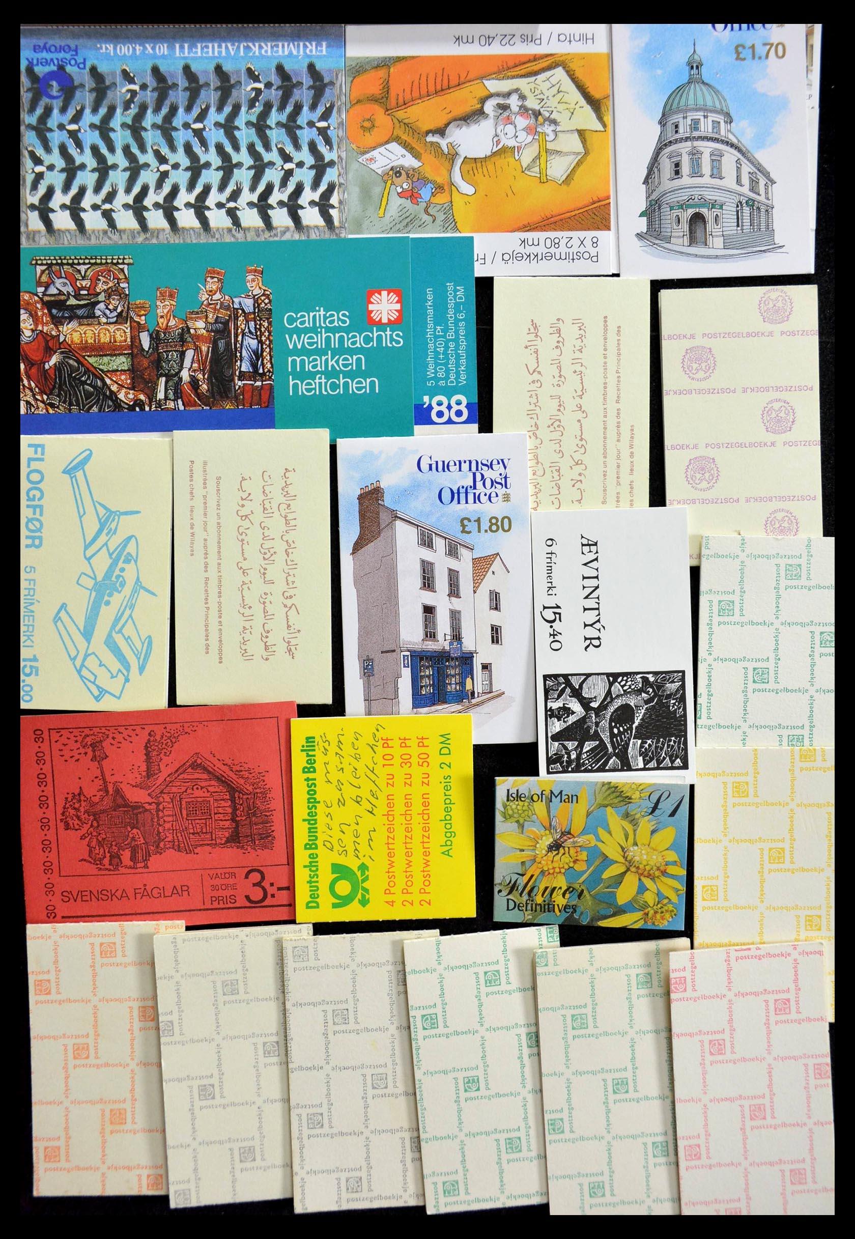 28824 010 - 28824 West Europa postzegelboekjes t/m modern.