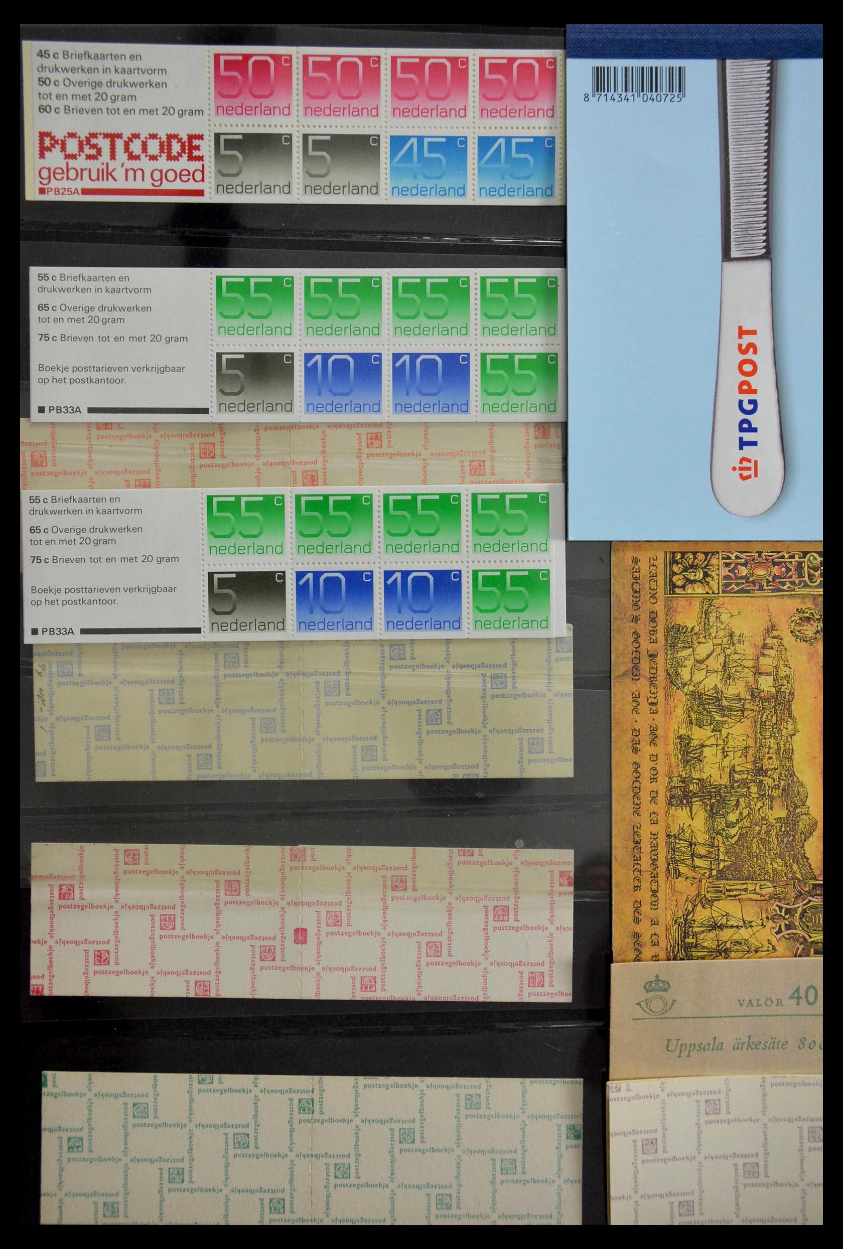 28824 011 - 28824 West Europa postzegelboekjes t/m modern.