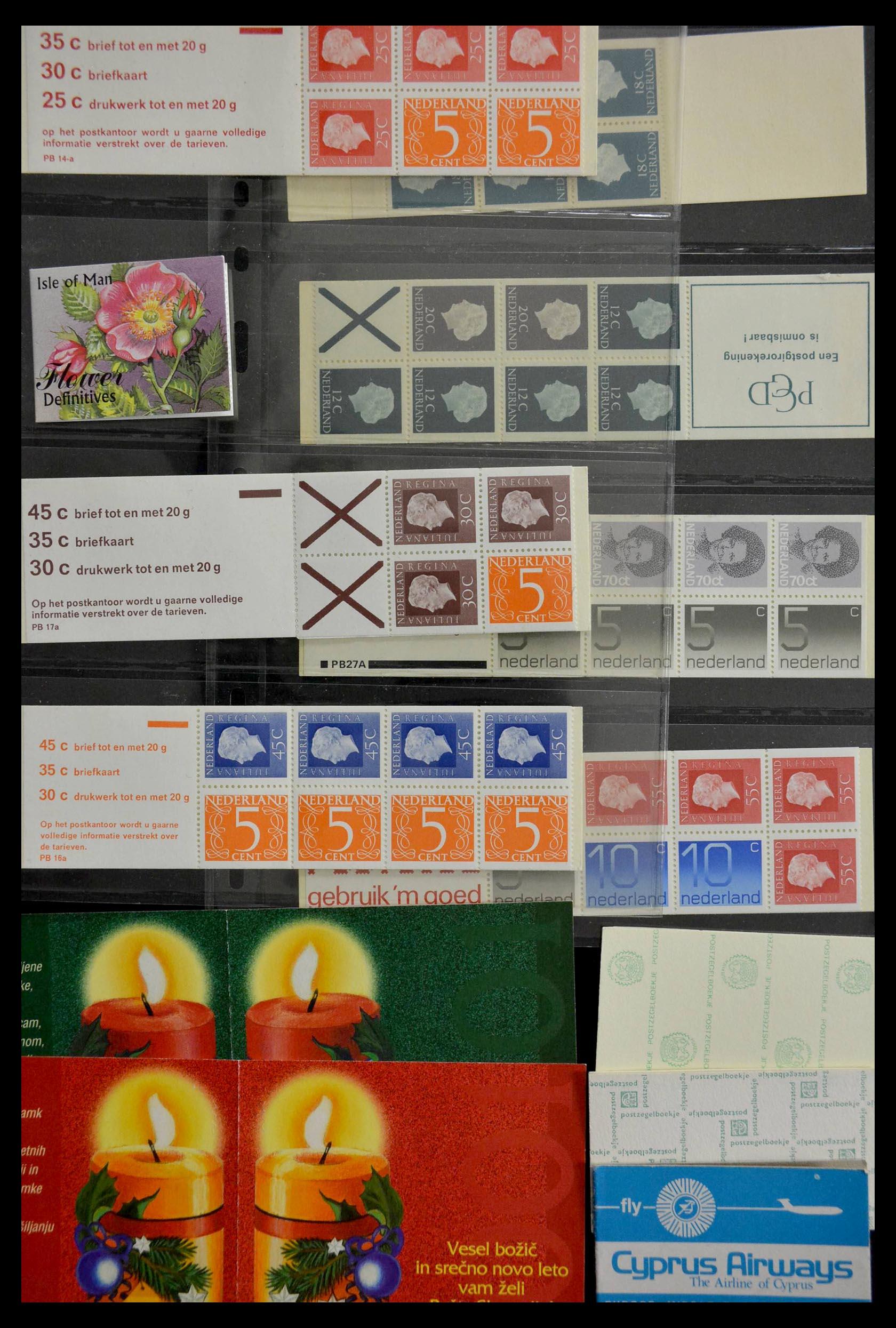 28824 013 - 28824 West Europa postzegelboekjes t/m modern.