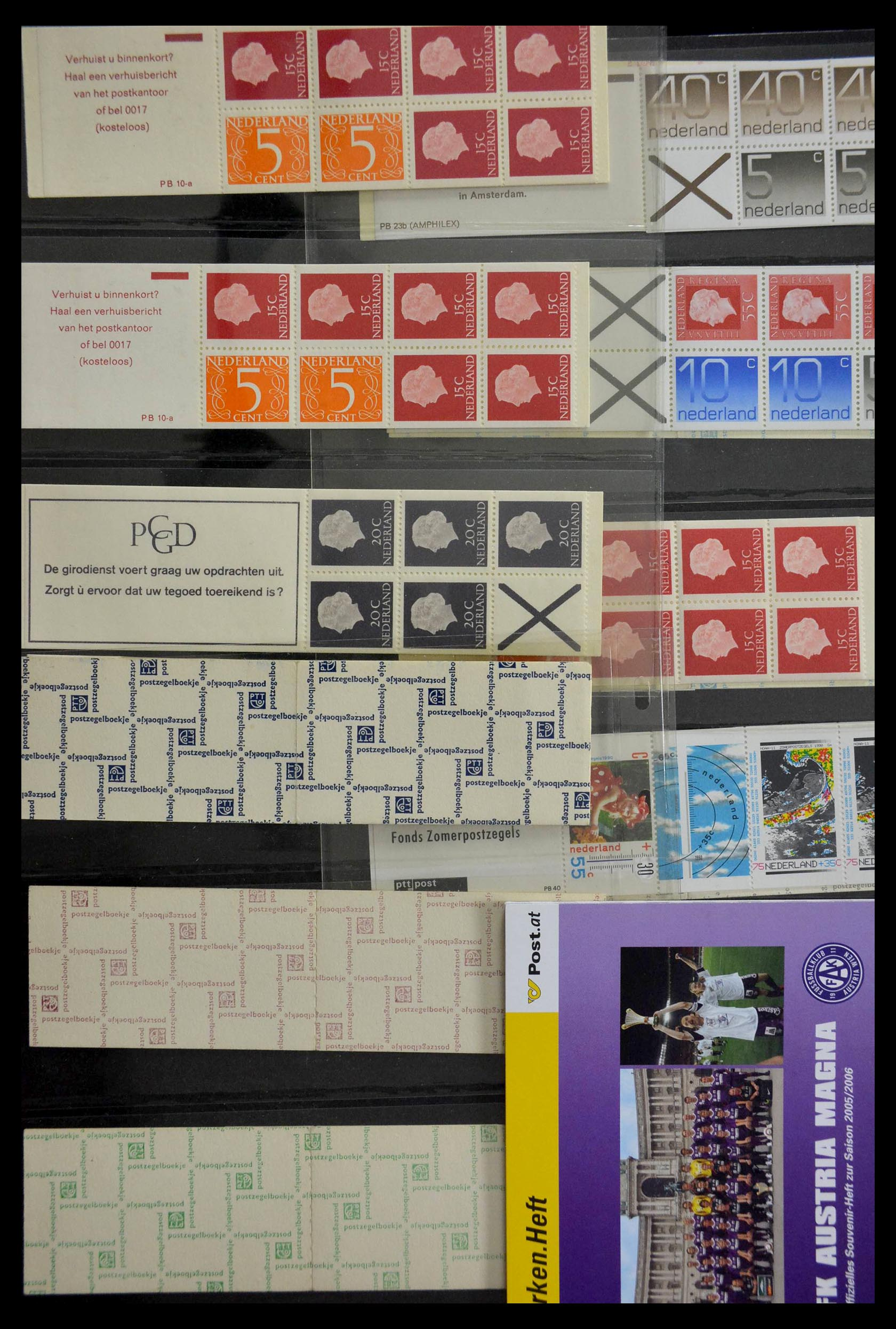 28824 014 - 28824 West Europa postzegelboekjes t/m modern.