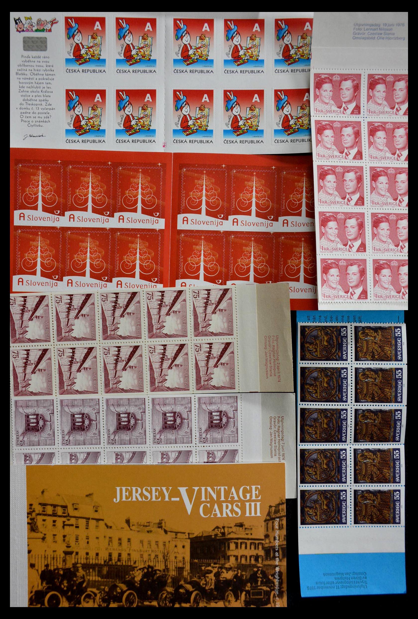 28824 016 - 28824 West Europa postzegelboekjes t/m modern.