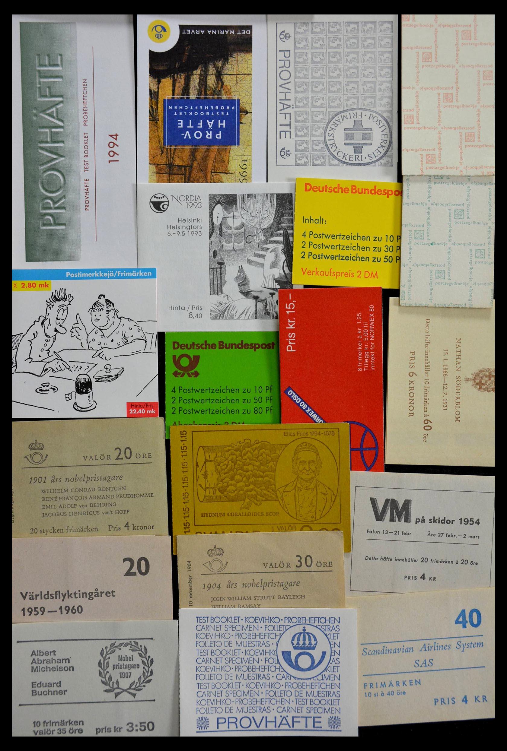 28824 018 - 28824 West Europa postzegelboekjes t/m modern.