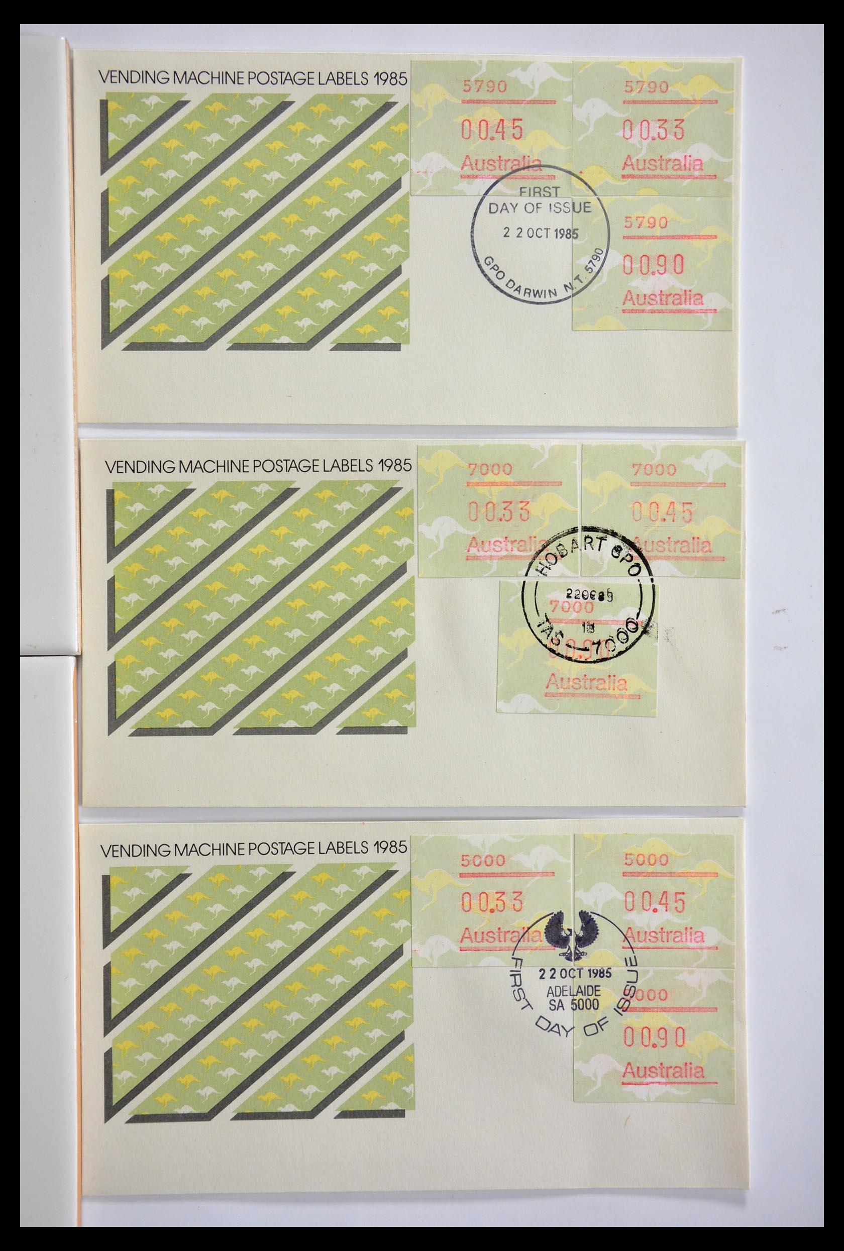 29353 001 - 29353 West Europa automaatzegels.