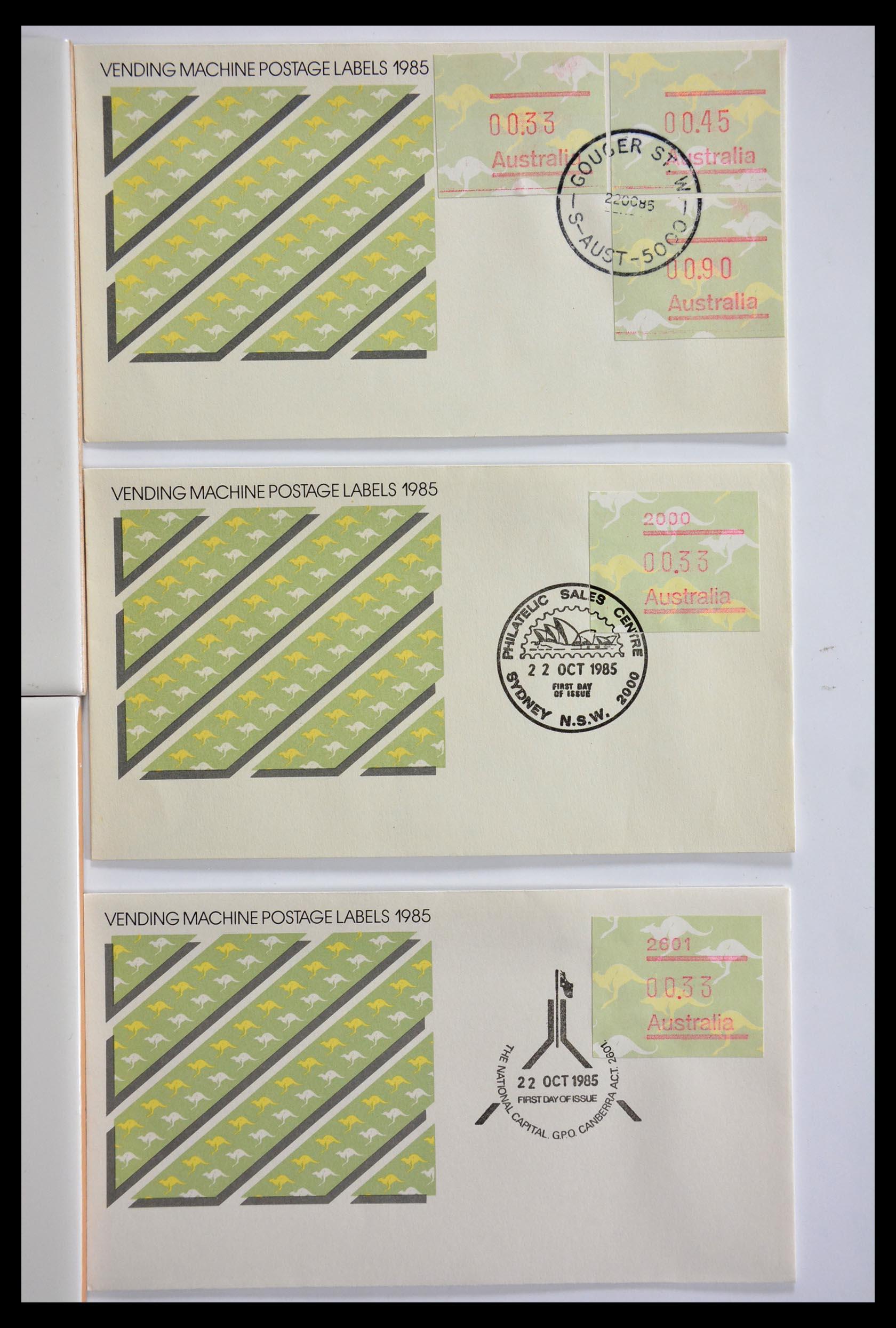 29353 002 - 29353 West Europa automaatzegels.