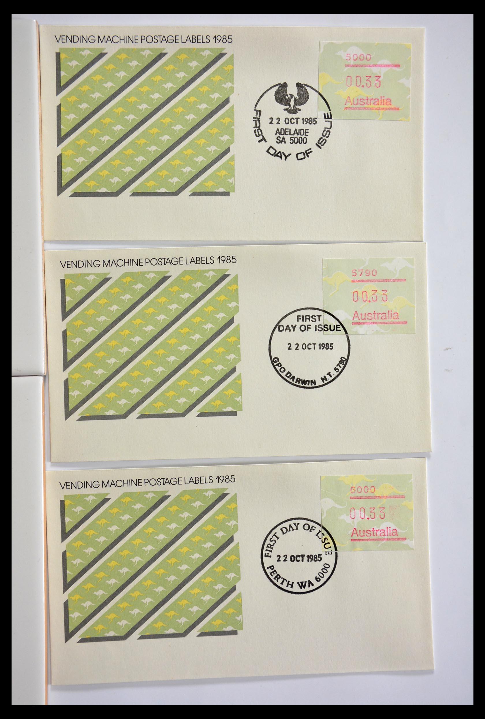 29353 004 - 29353 West Europa automaatzegels.
