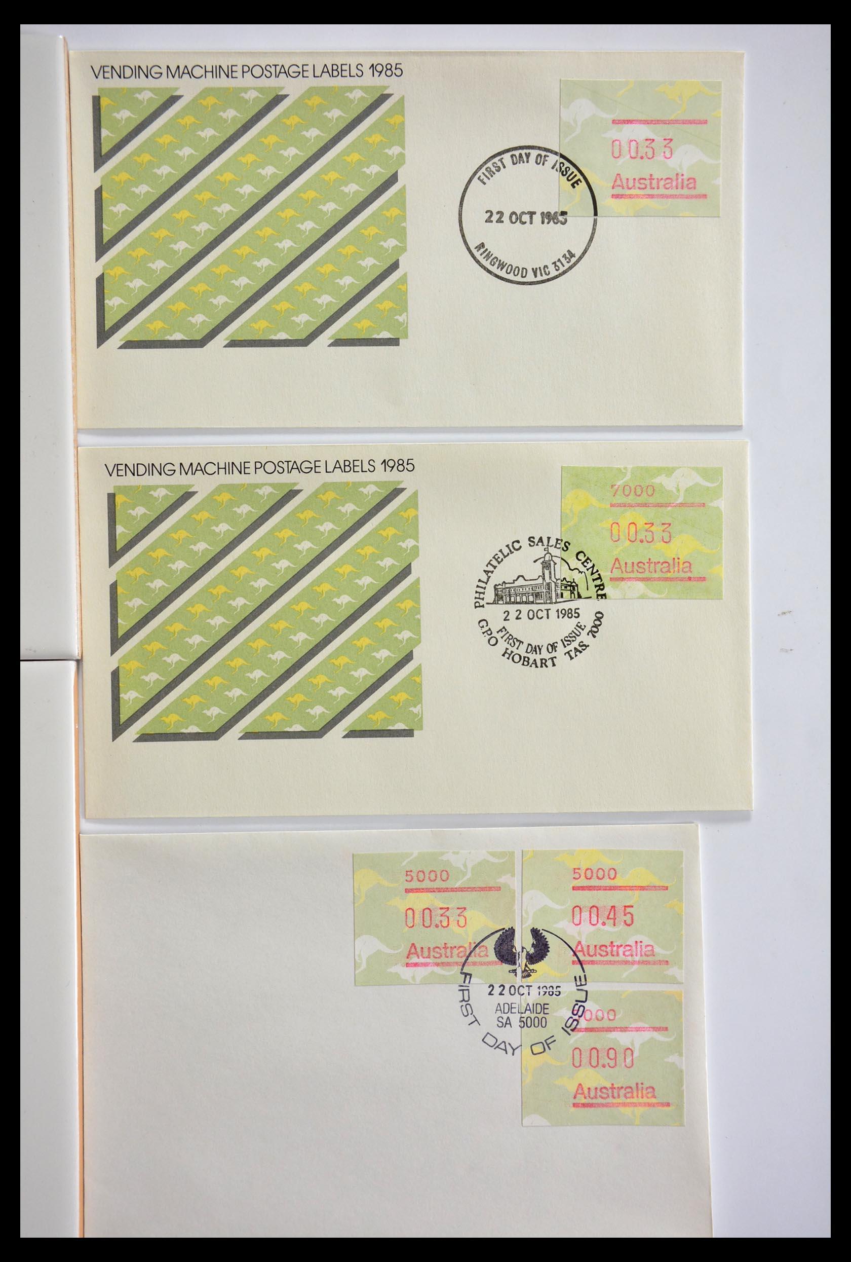 29353 005 - 29353 West Europa automaatzegels.