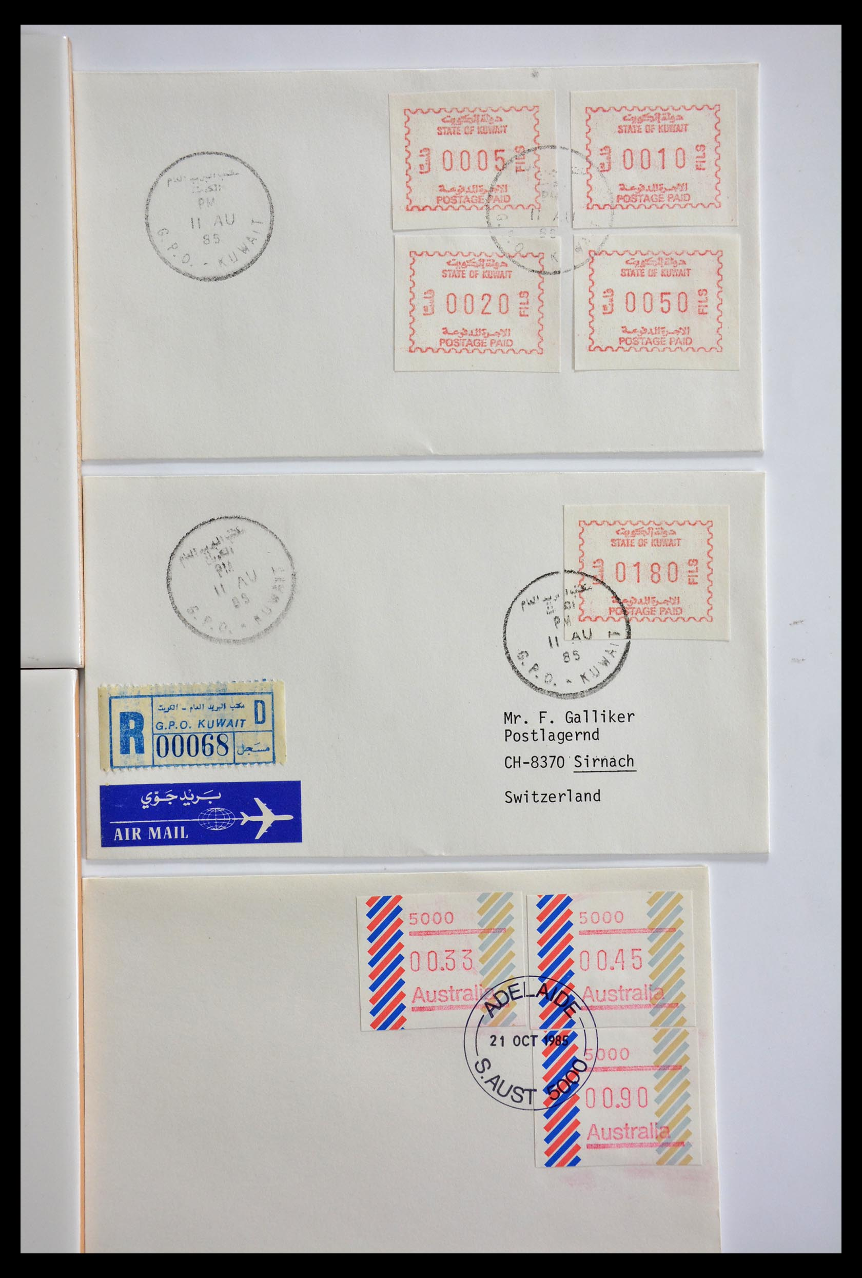 29353 006 - 29353 West Europa automaatzegels.