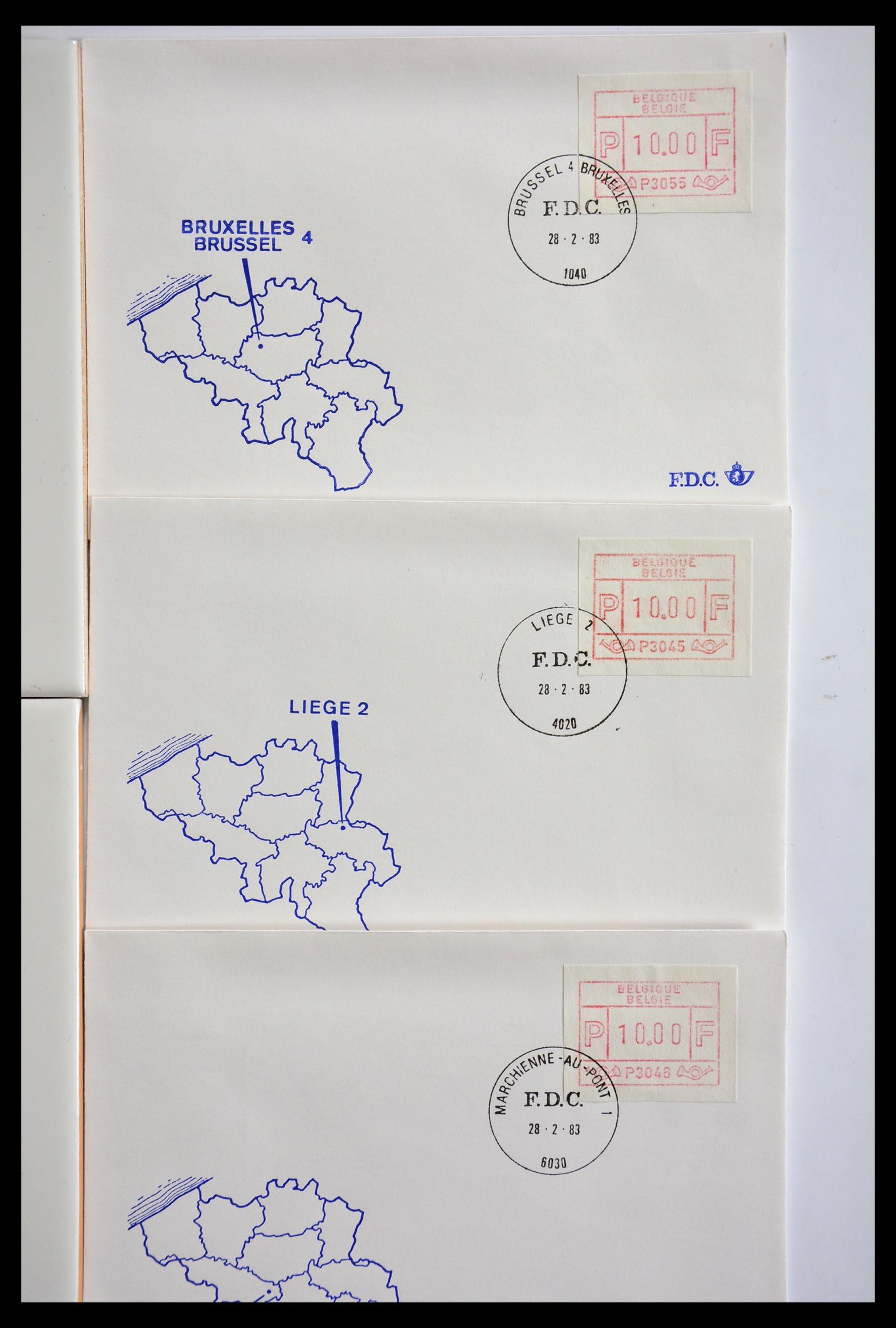 29353 007 - 29353 West Europa automaatzegels.