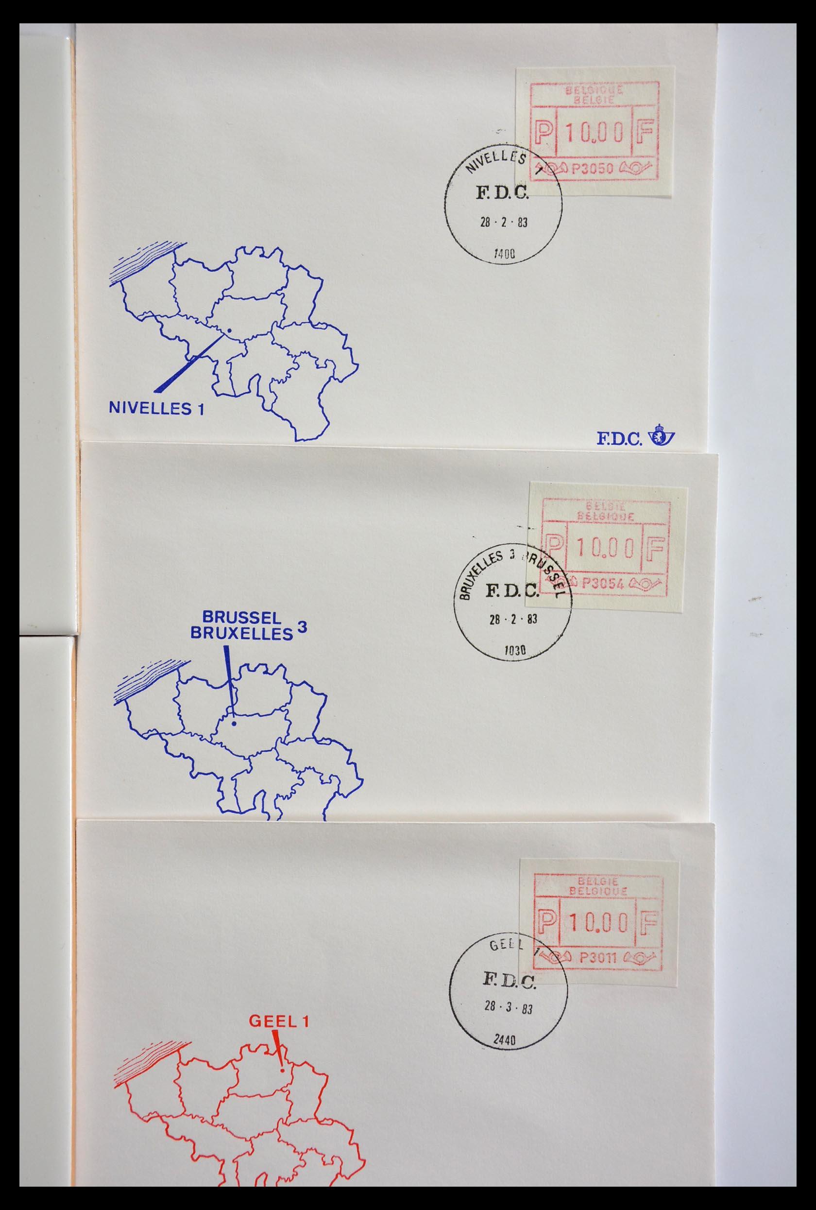 29353 008 - 29353 West Europa automaatzegels.