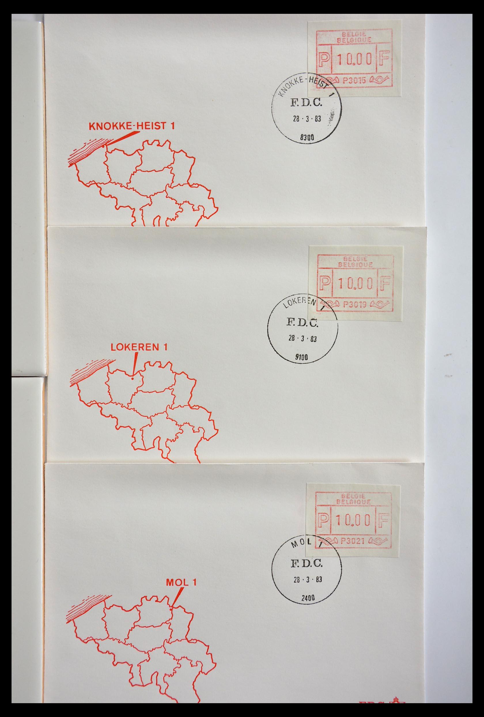 29353 009 - 29353 West Europa automaatzegels.