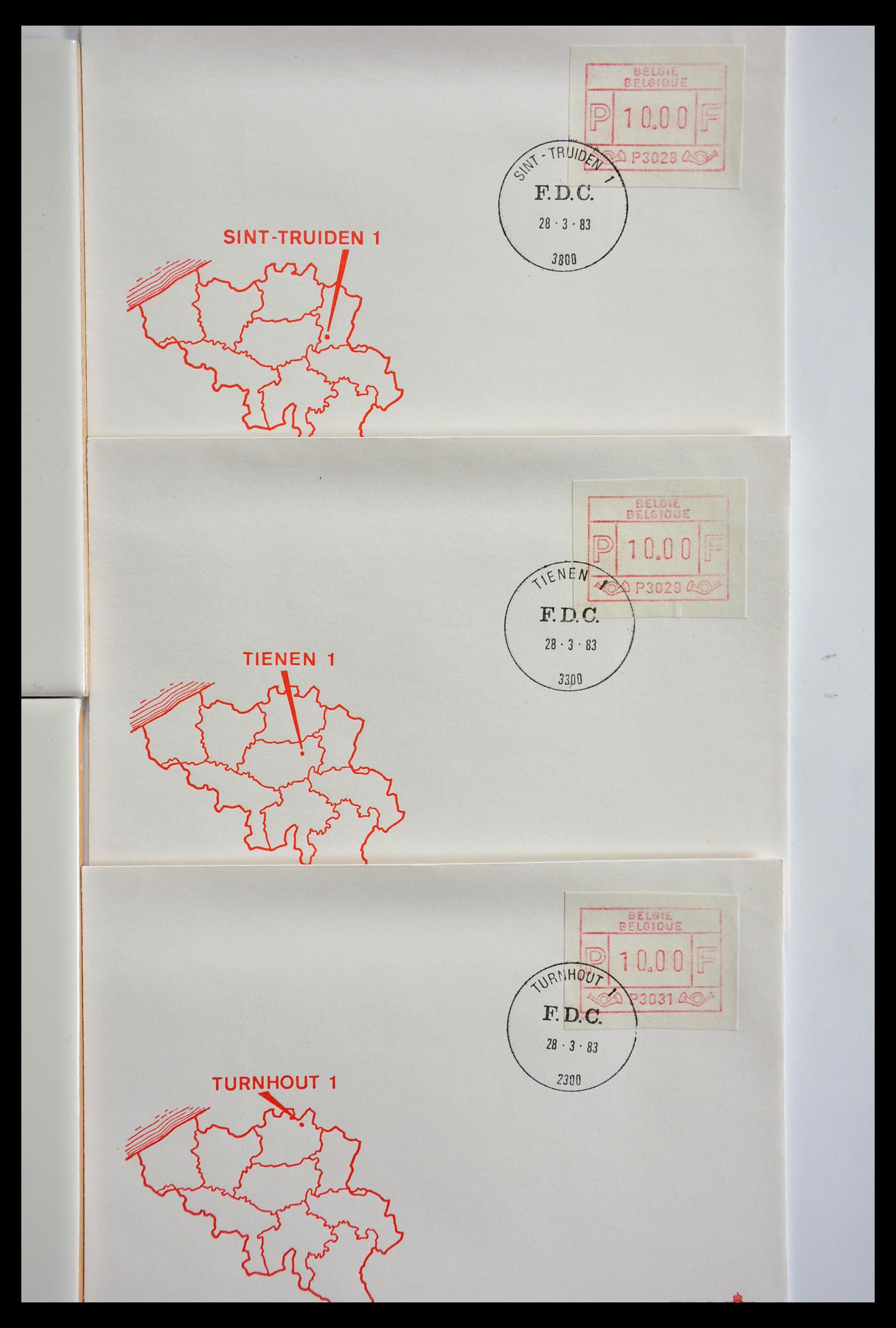 29353 010 - 29353 West Europa automaatzegels.