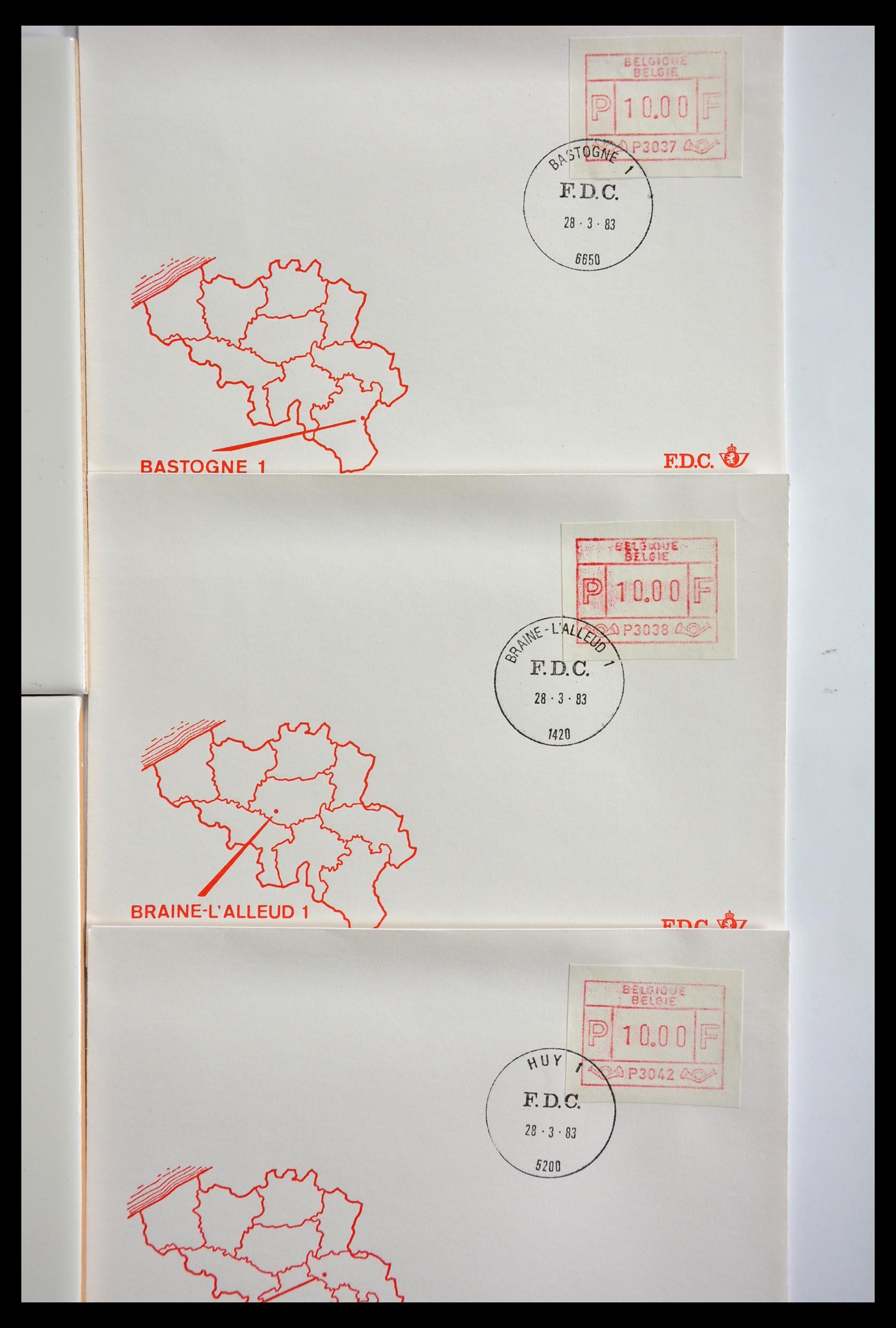 29353 011 - 29353 West Europa automaatzegels.