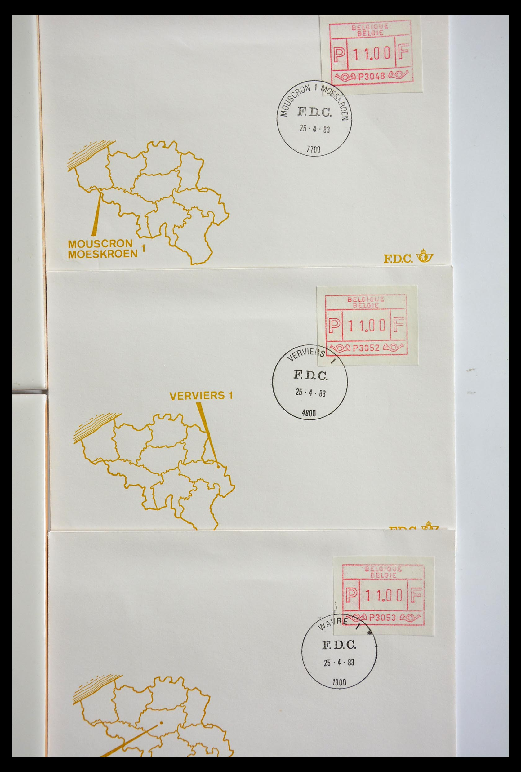 29353 016 - 29353 West Europa automaatzegels.