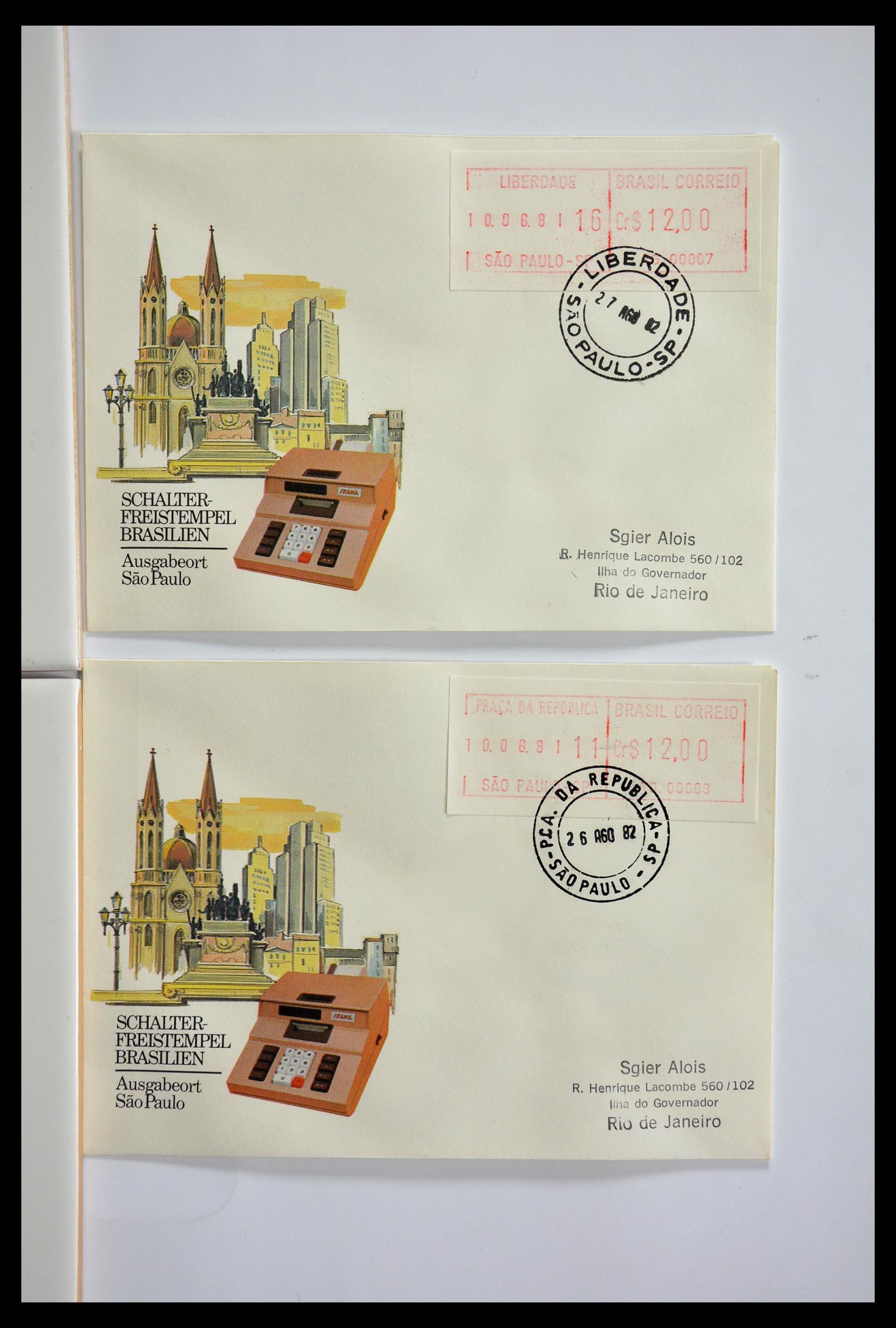 29353 019 - 29353 West Europa automaatzegels.