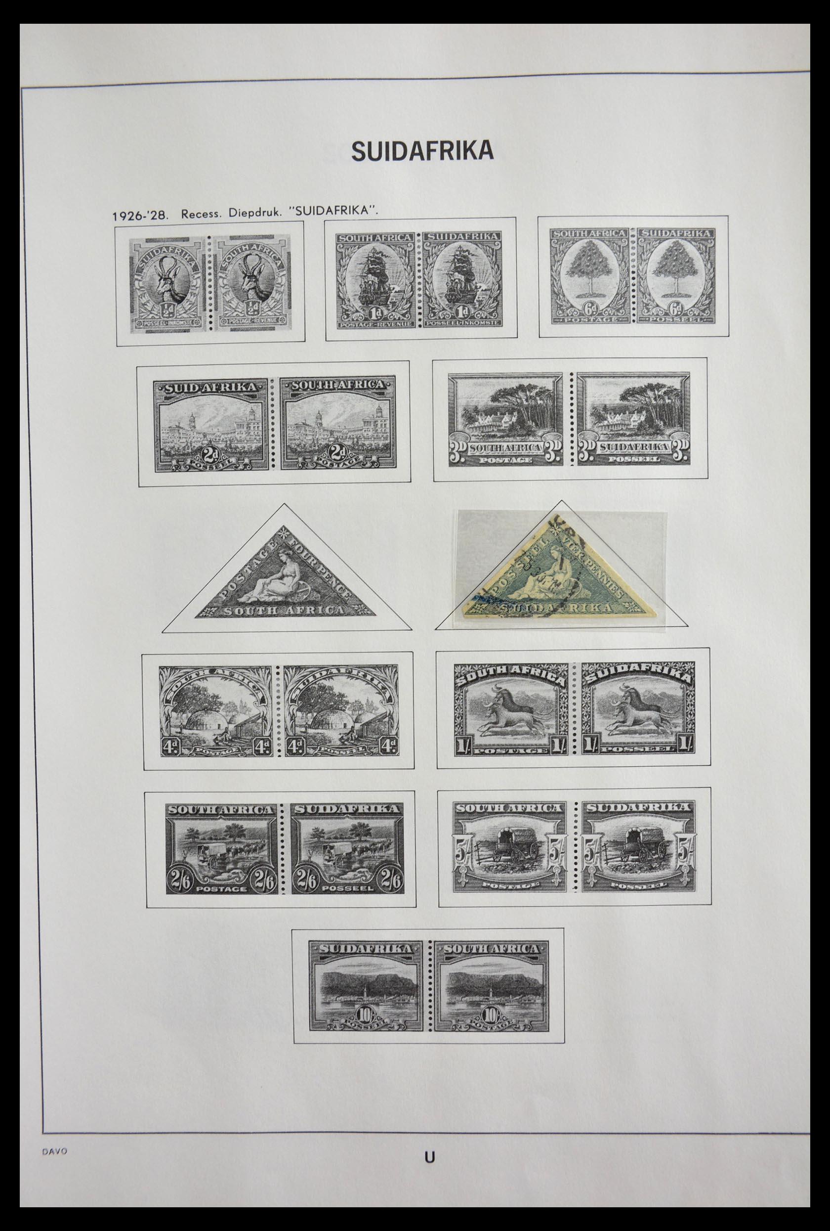 29393 002 - 29393 Zuid Afrika 1910-2001.