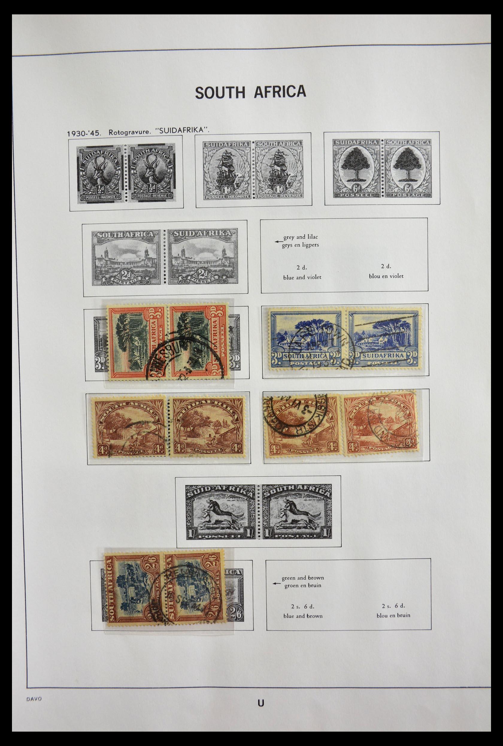 29393 003 - 29393 Zuid Afrika 1910-2001.
