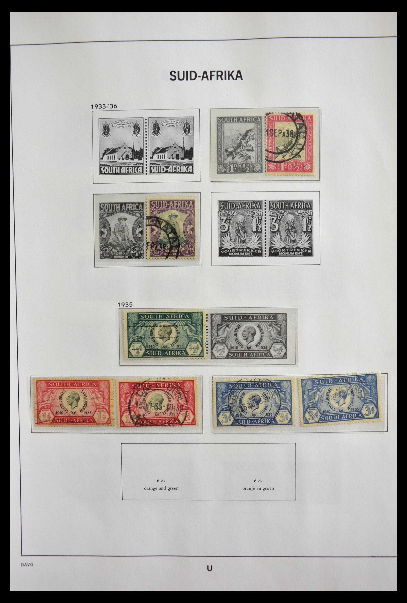 29393 004 - 29393 Zuid Afrika 1910-2001.