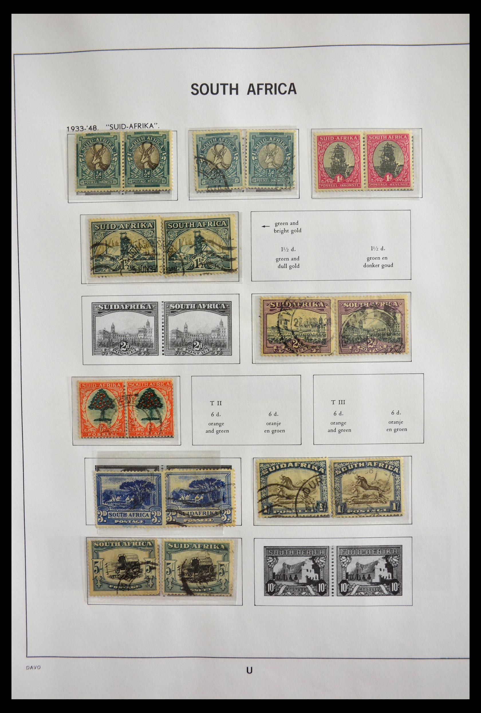 29393 005 - 29393 Zuid Afrika 1910-2001.