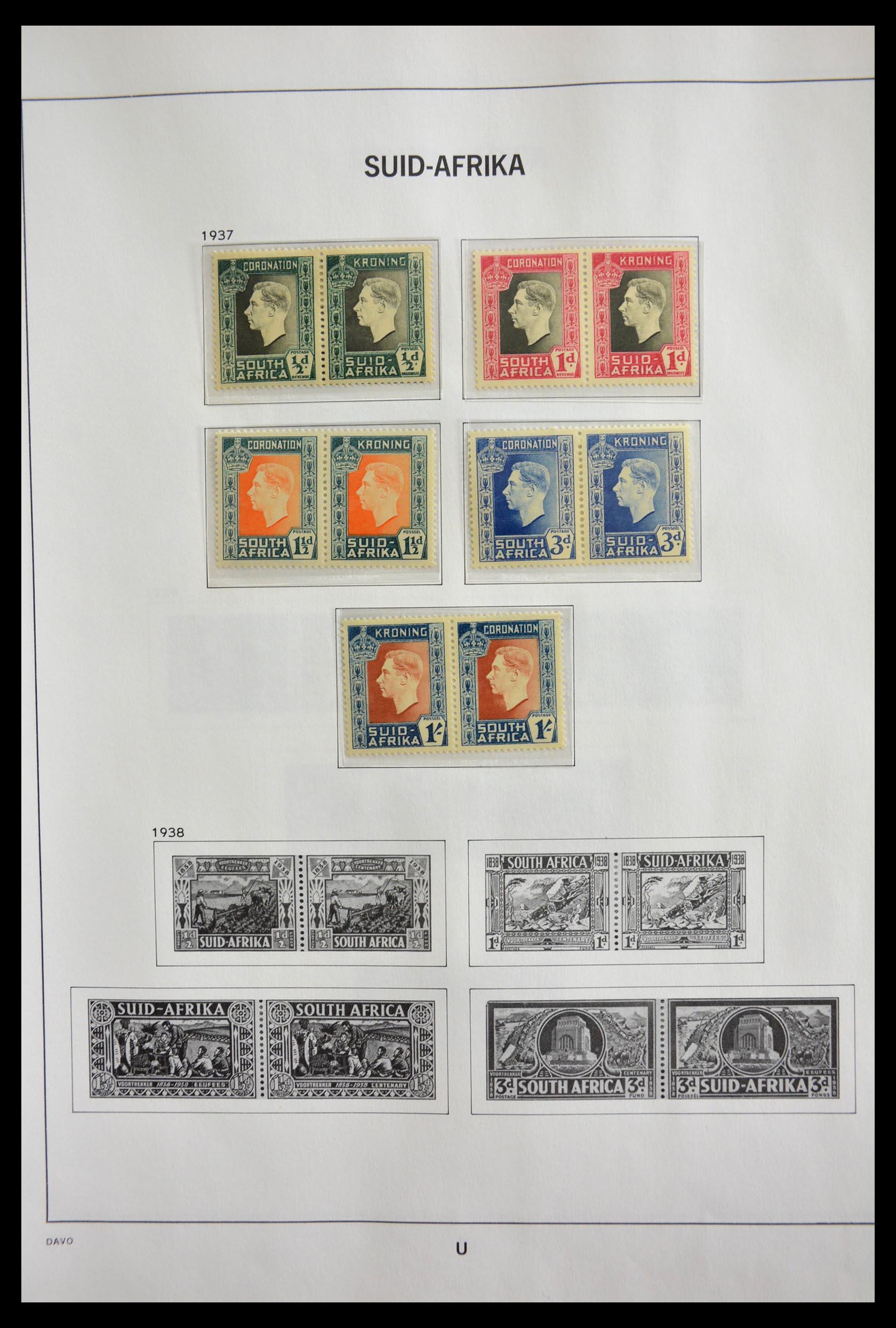 29393 006 - 29393 Zuid Afrika 1910-2001.