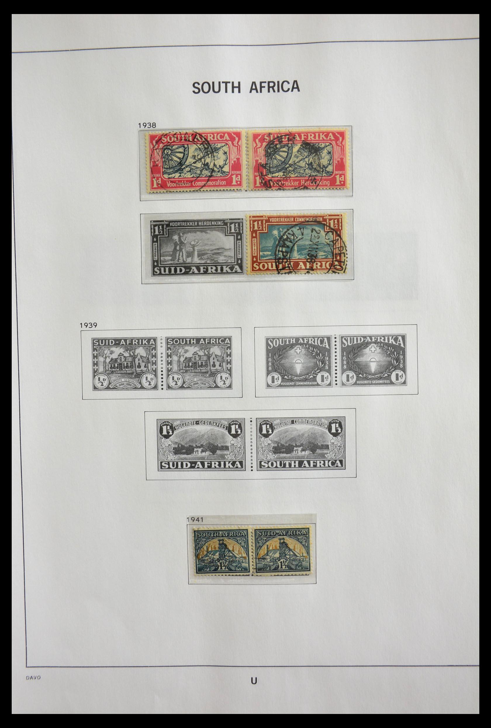 29393 007 - 29393 Zuid Afrika 1910-2001.