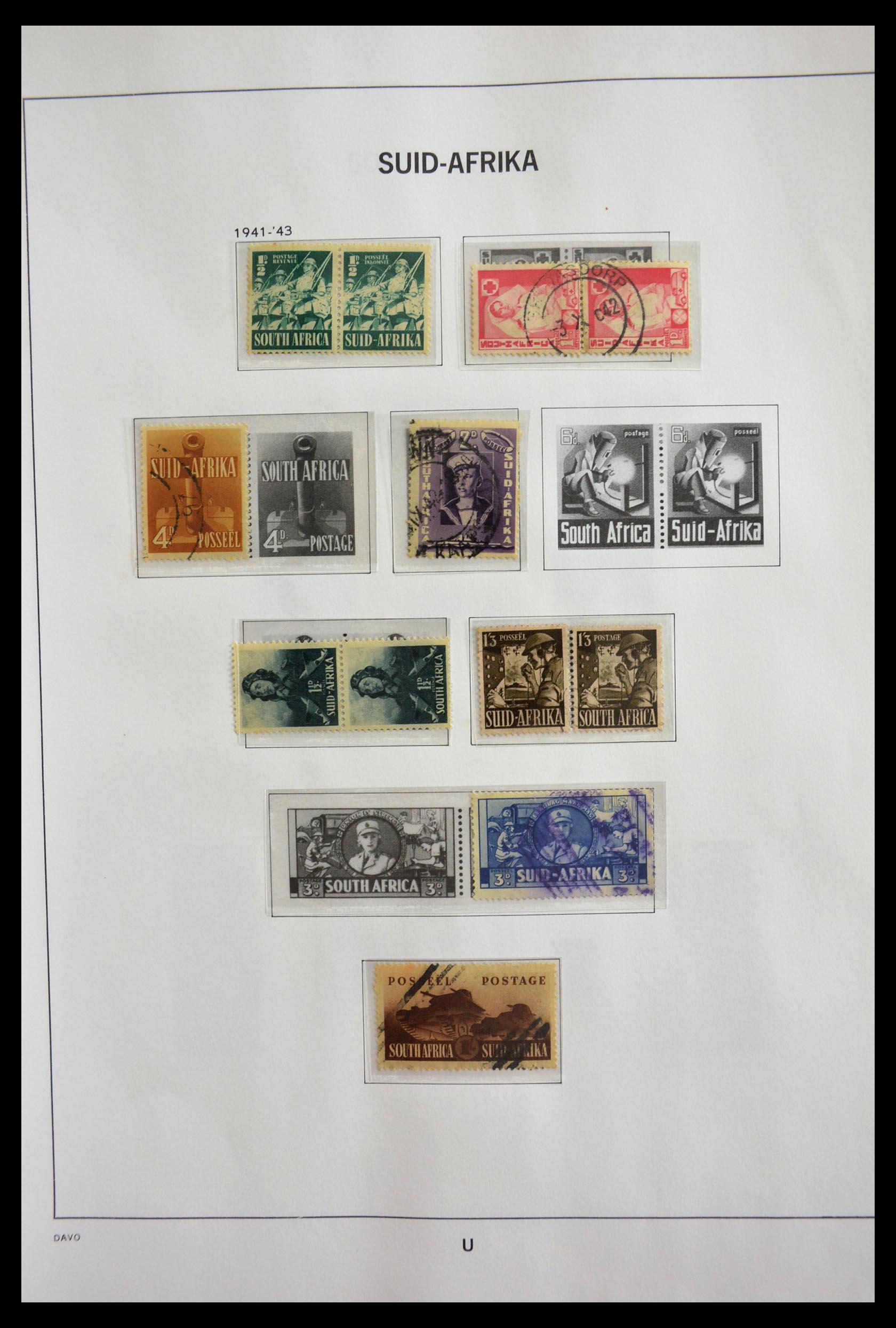 29393 008 - 29393 Zuid Afrika 1910-2001.