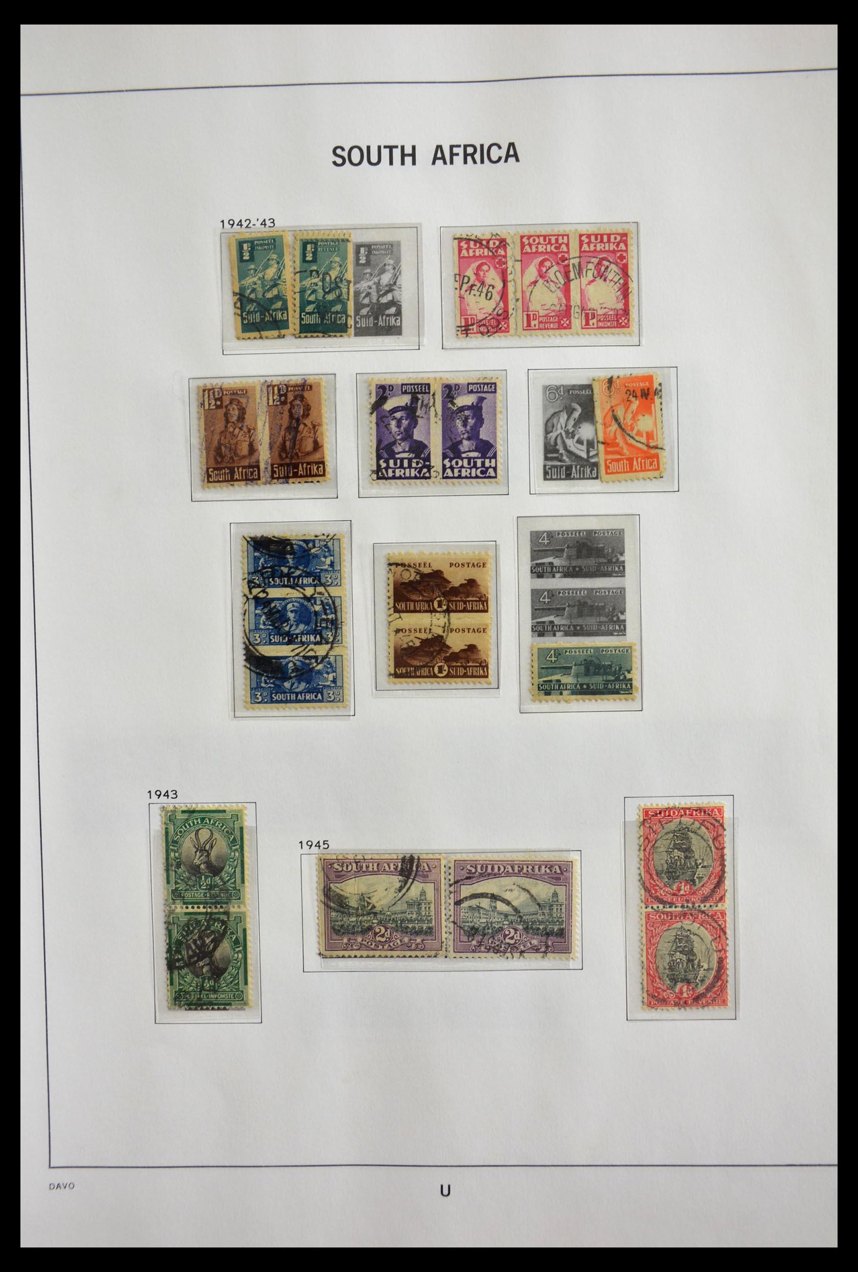 29393 009 - 29393 Zuid Afrika 1910-2001.