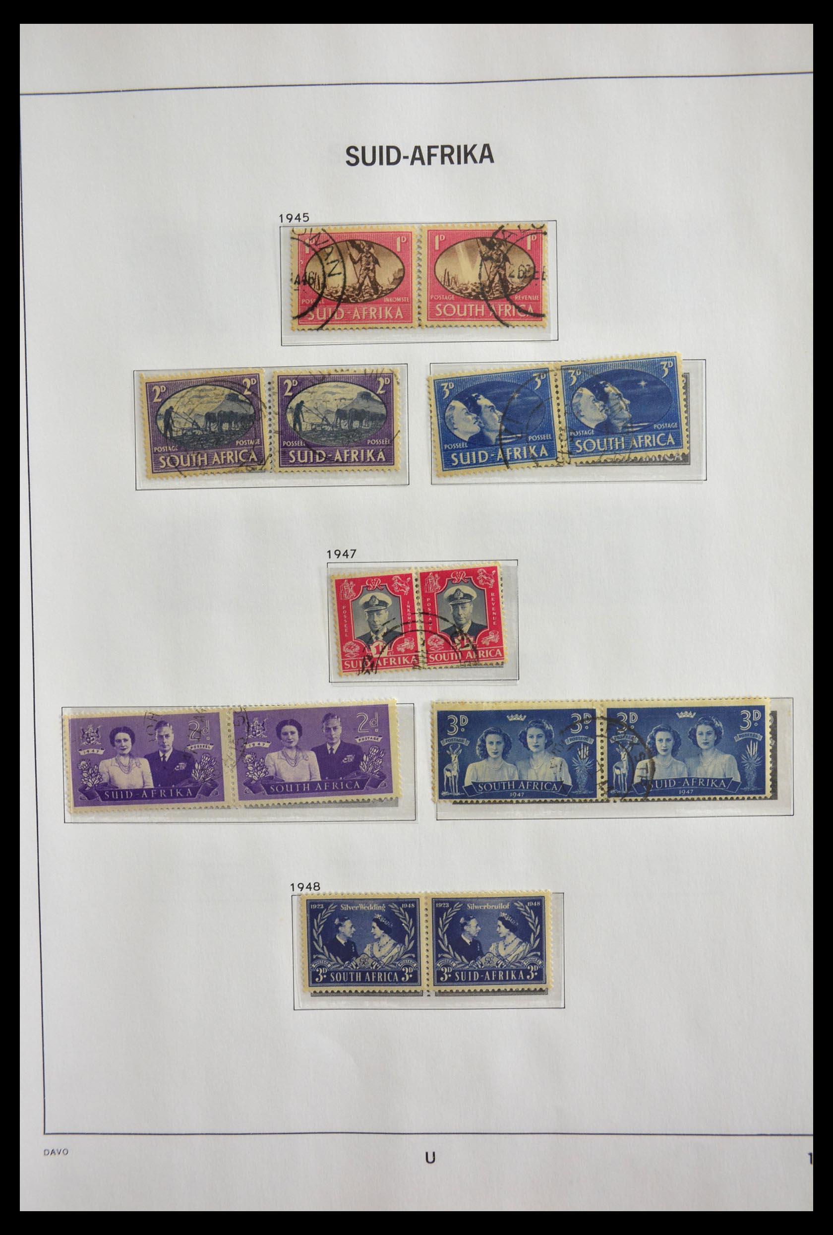29393 010 - 29393 Zuid Afrika 1910-2001.