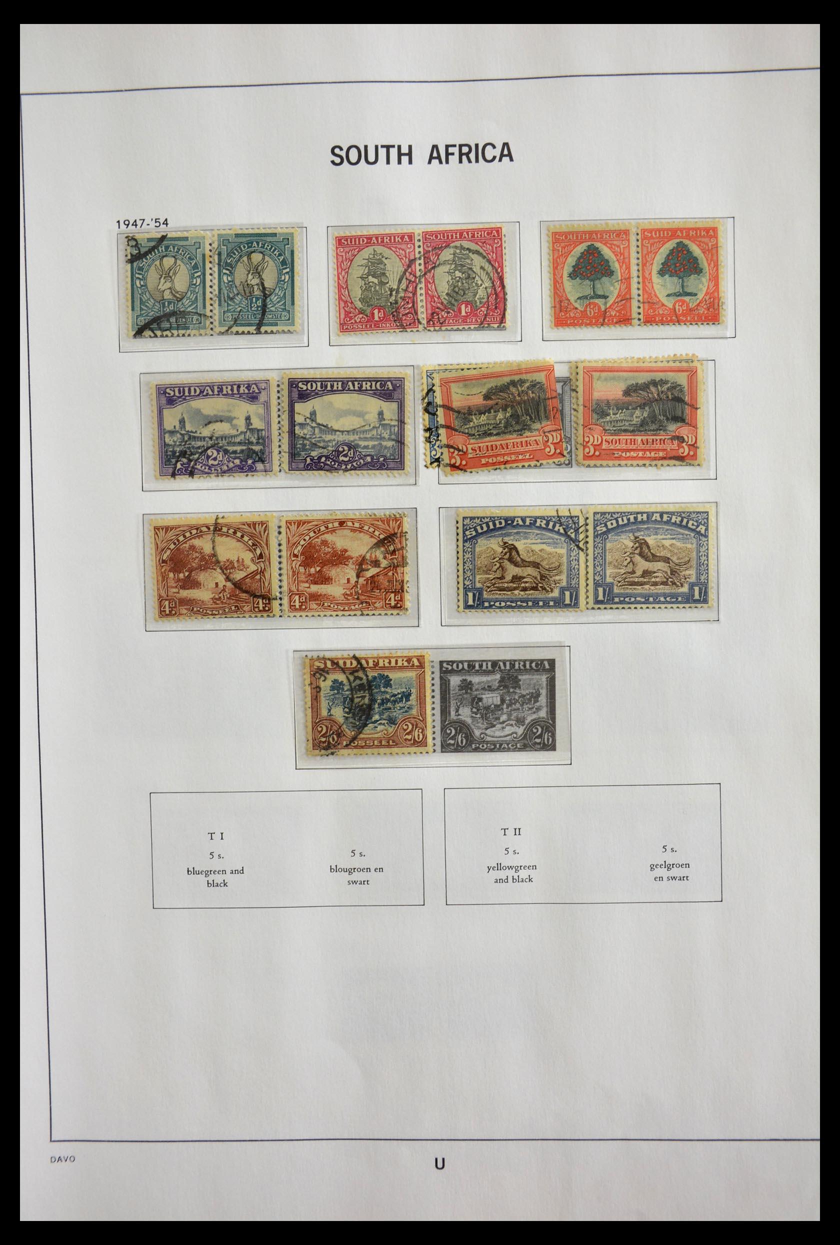 29393 011 - 29393 Zuid Afrika 1910-2001.