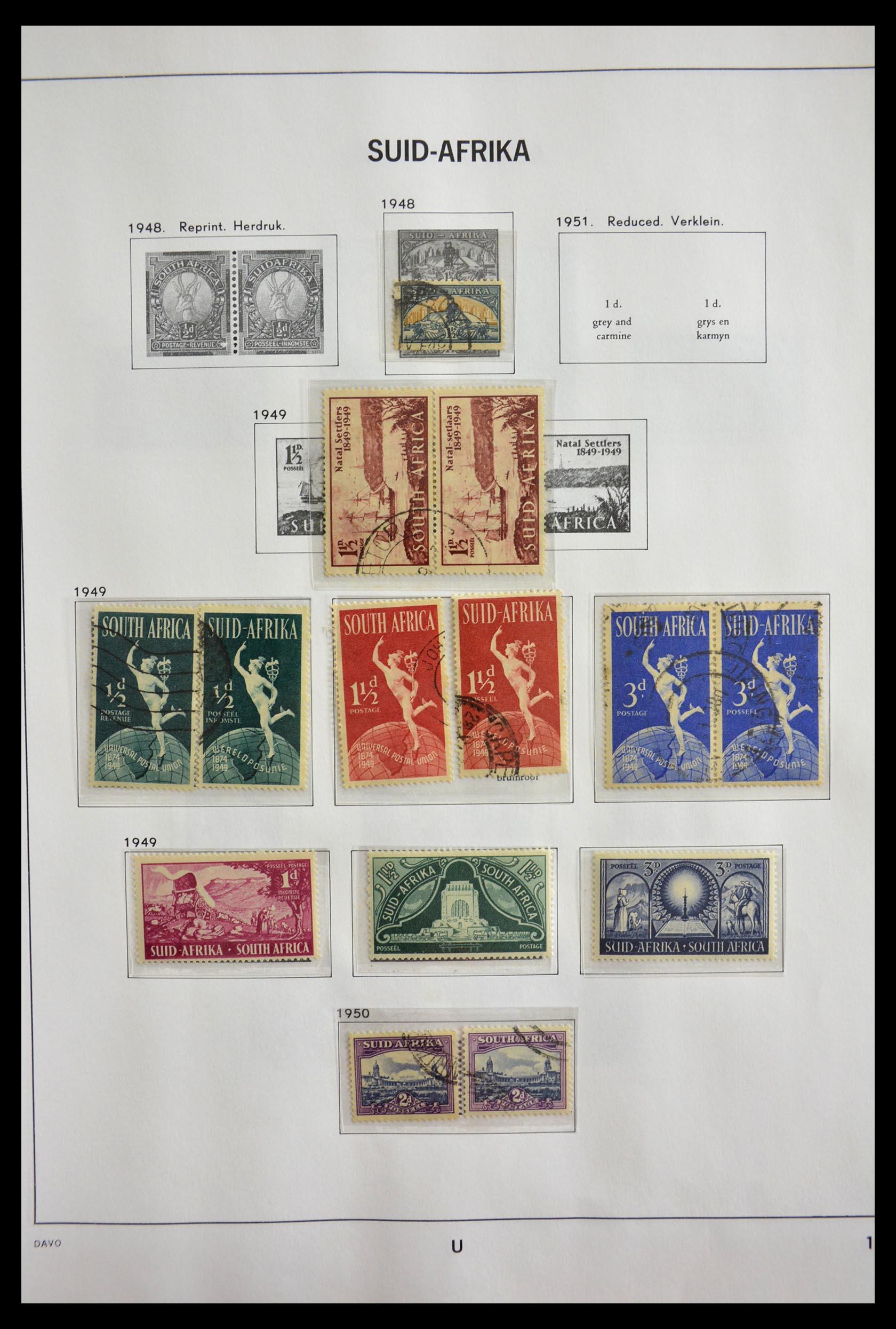 29393 012 - 29393 Zuid Afrika 1910-2001.