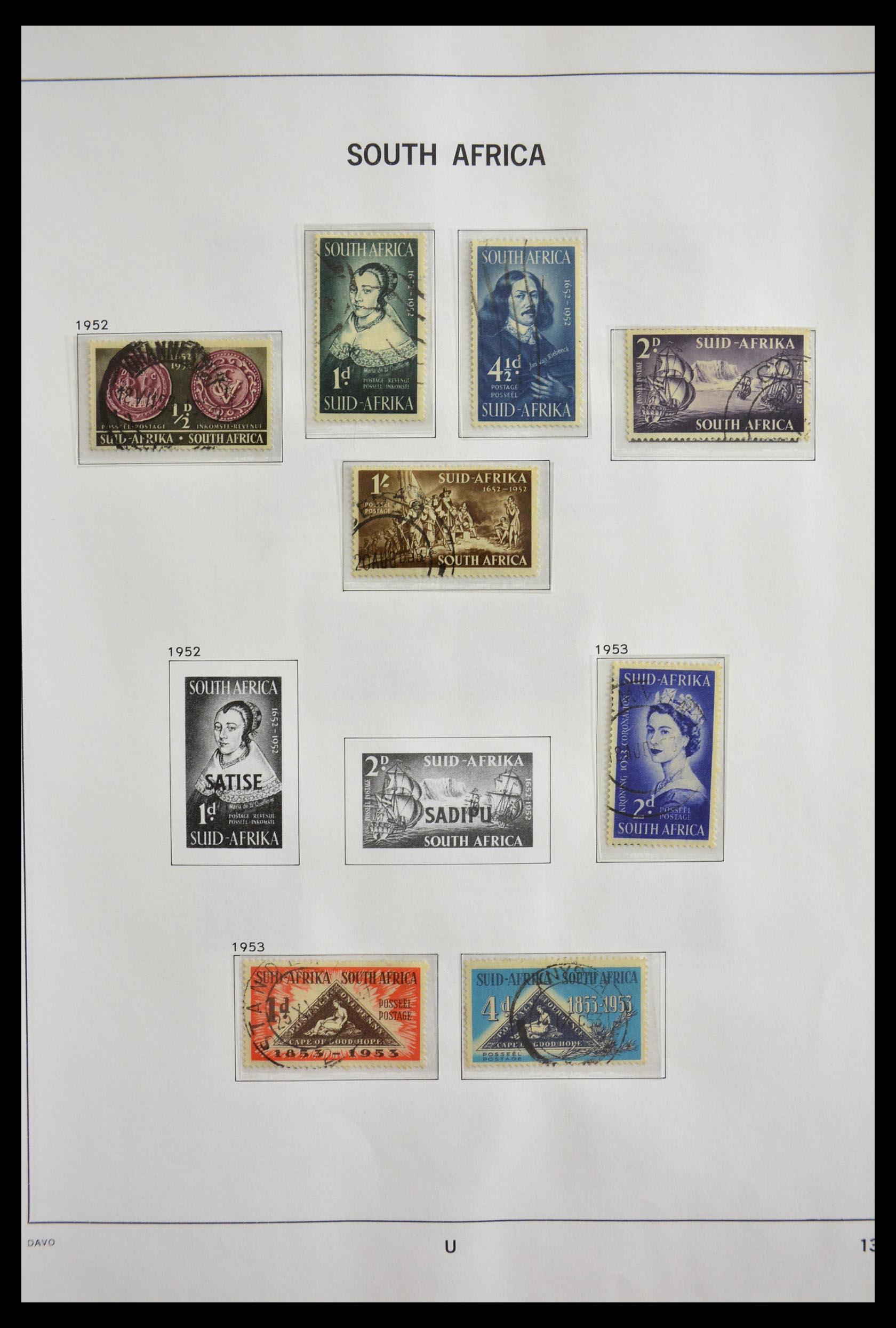 29393 013 - 29393 Zuid Afrika 1910-2001.