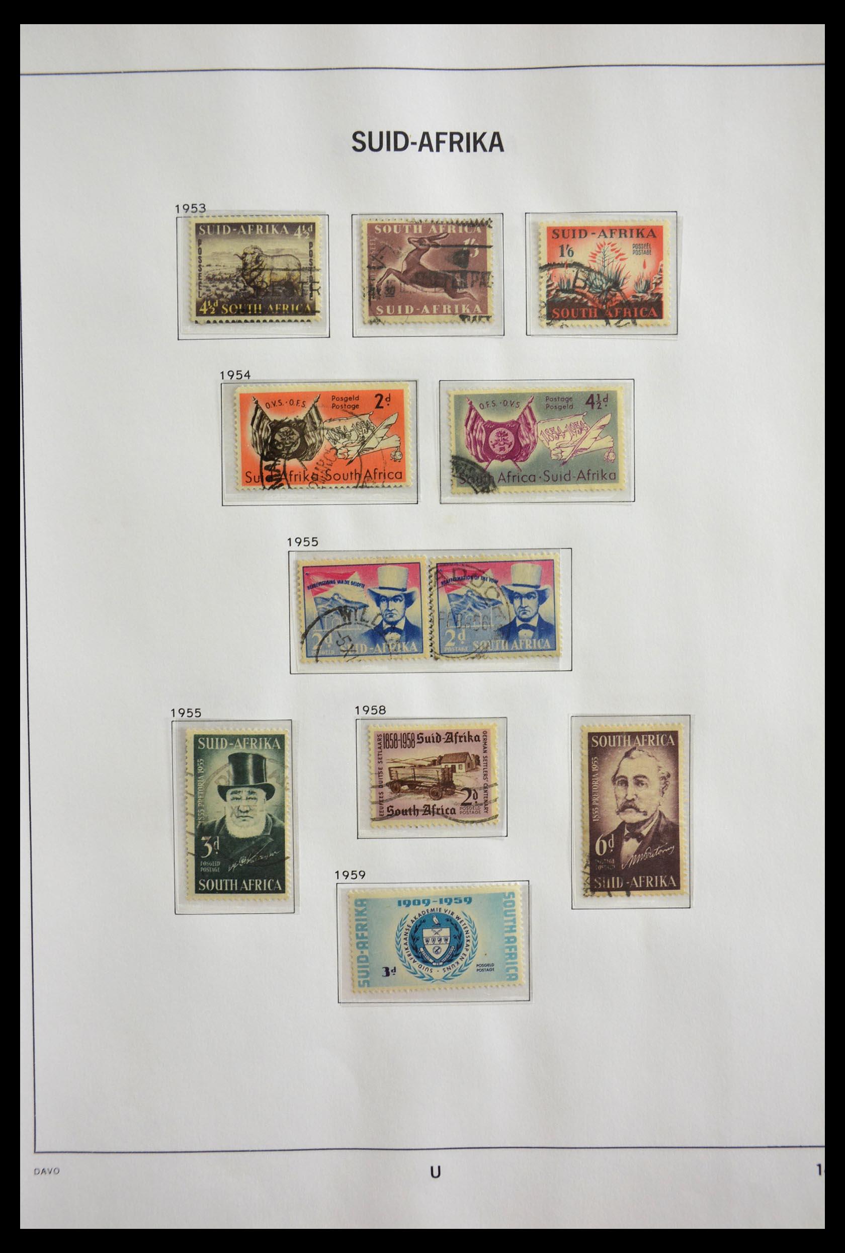 29393 014 - 29393 Zuid Afrika 1910-2001.